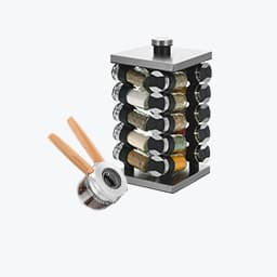 Spice Racks and Grinders