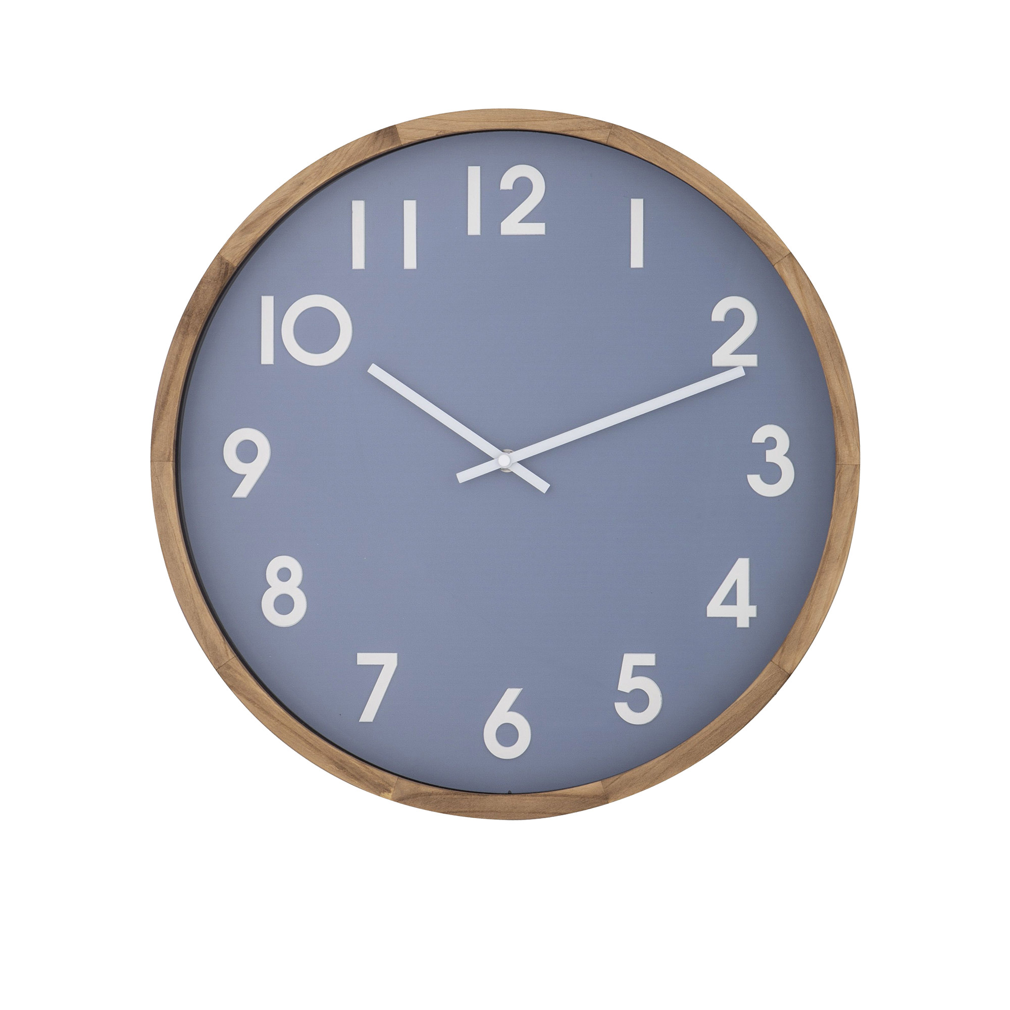 Amalfi Leonard Wall Clock 41.5cm Blue, White & Neutral