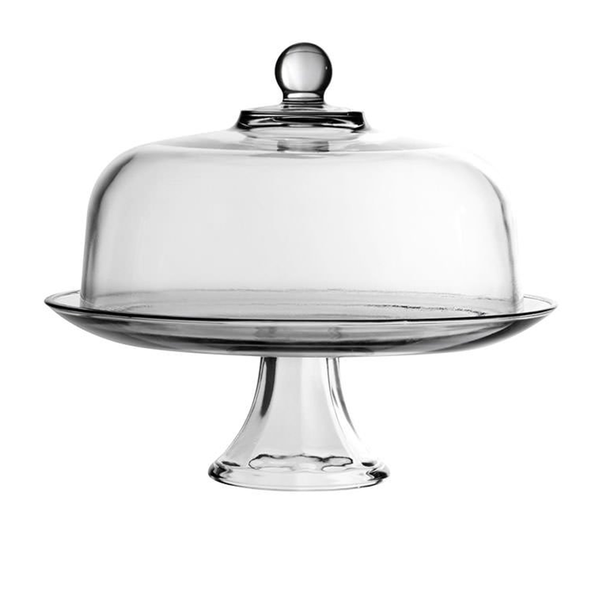 Anchor Hocking Presence Cake Stand & Dome 33cm