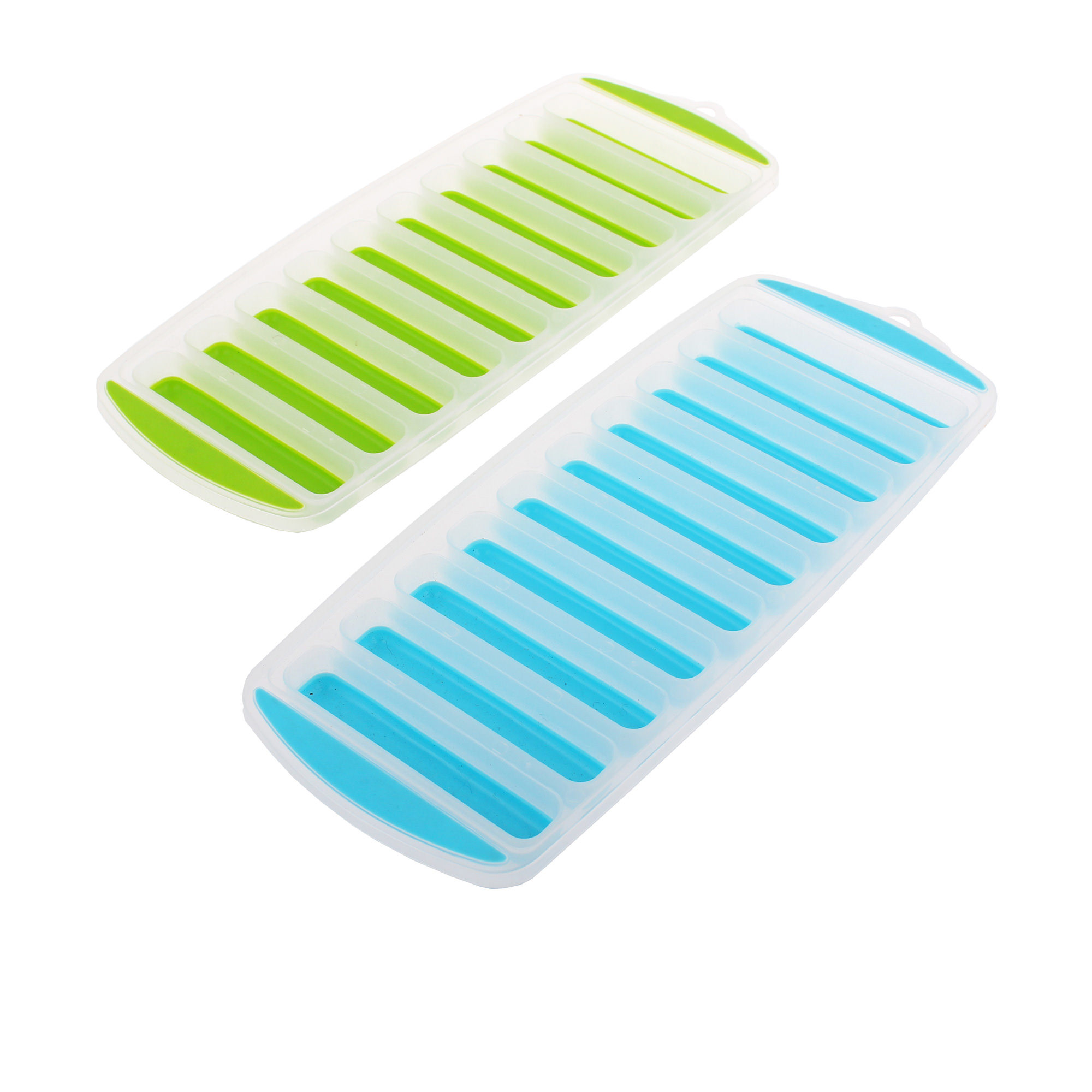 Appetito Easy Release 10 Cube Stick Ice Tray Set of 2
