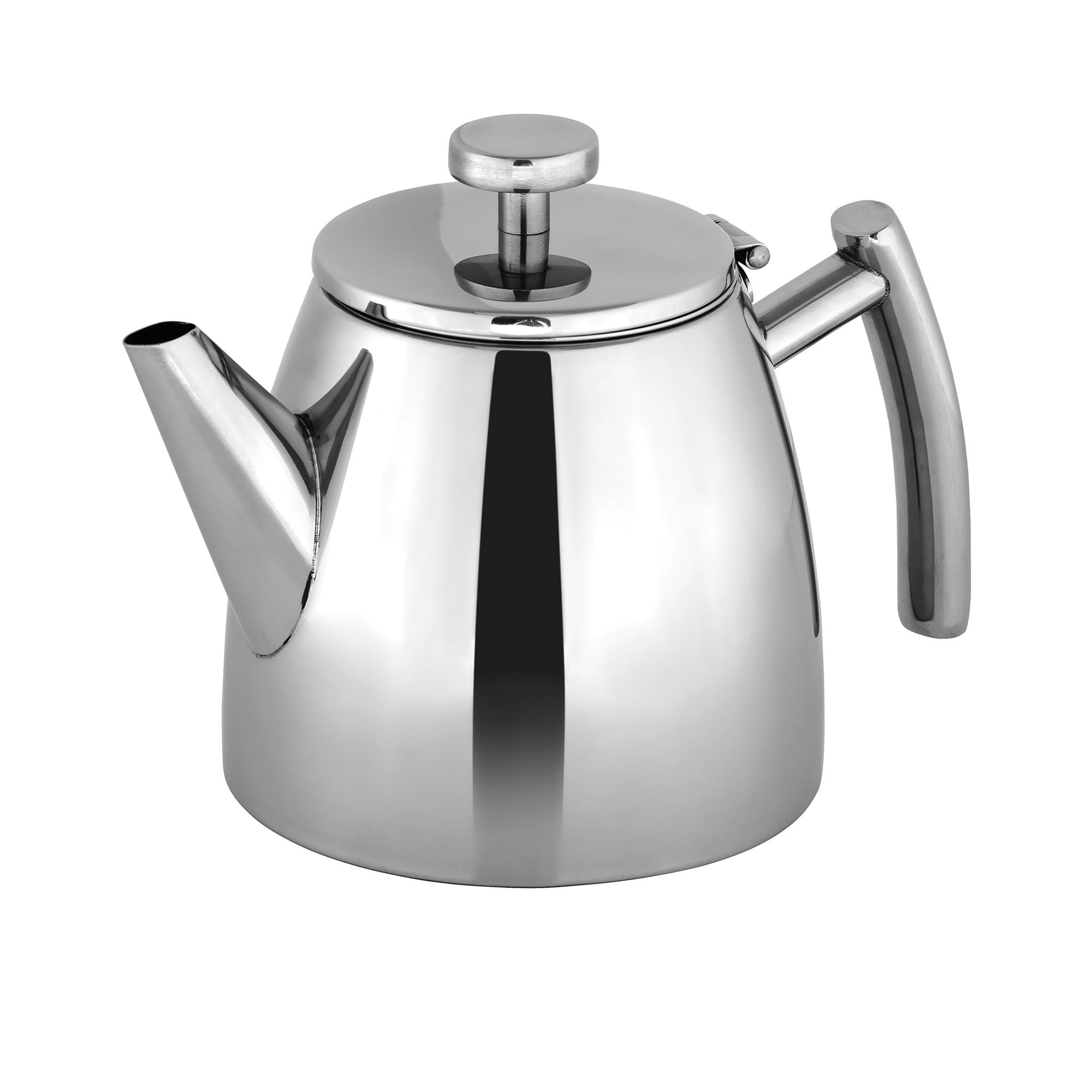 Avanti Modena Stainless Steel Double Wall Teapot 600ml