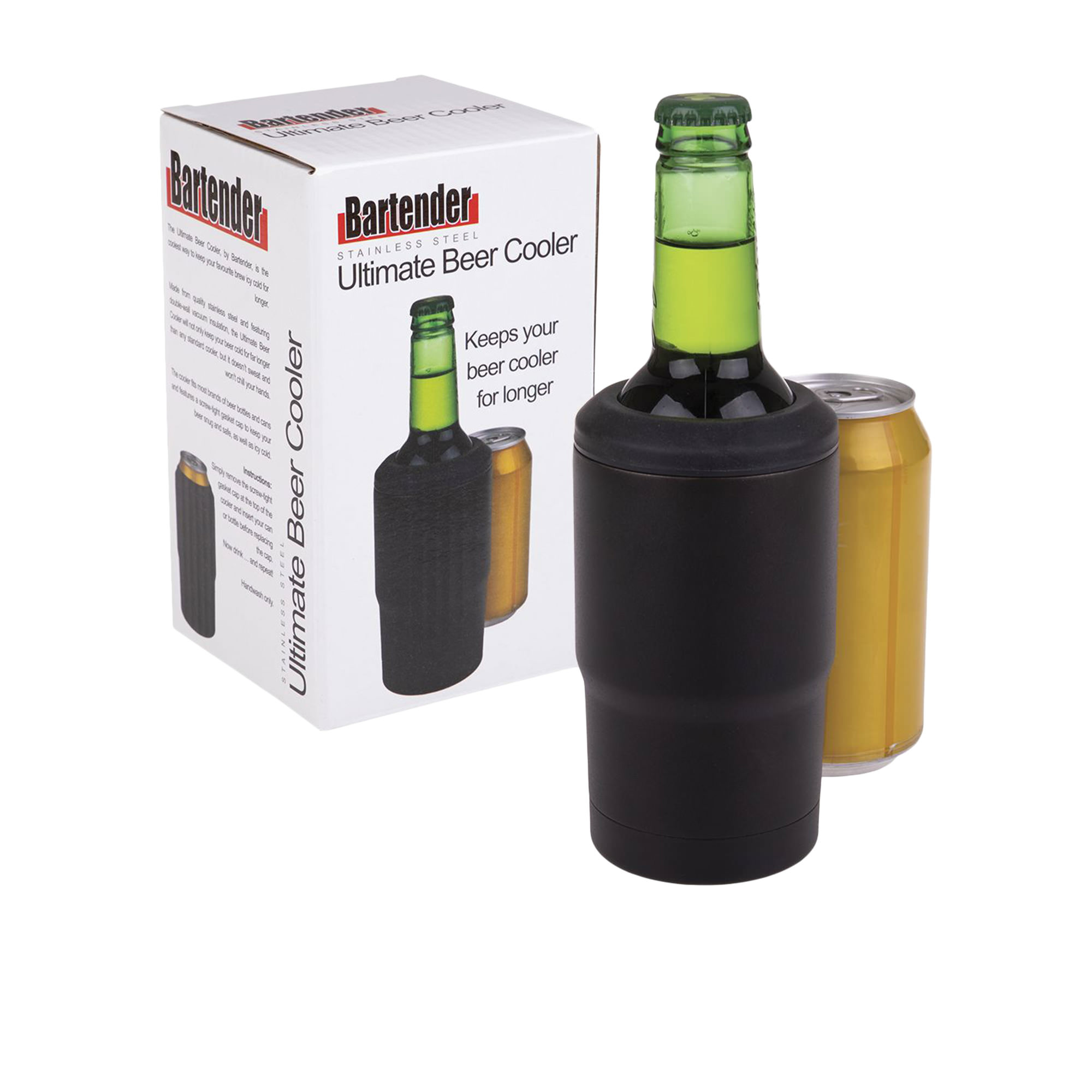 Bartender Ultimate Beer Cooler Matte Black