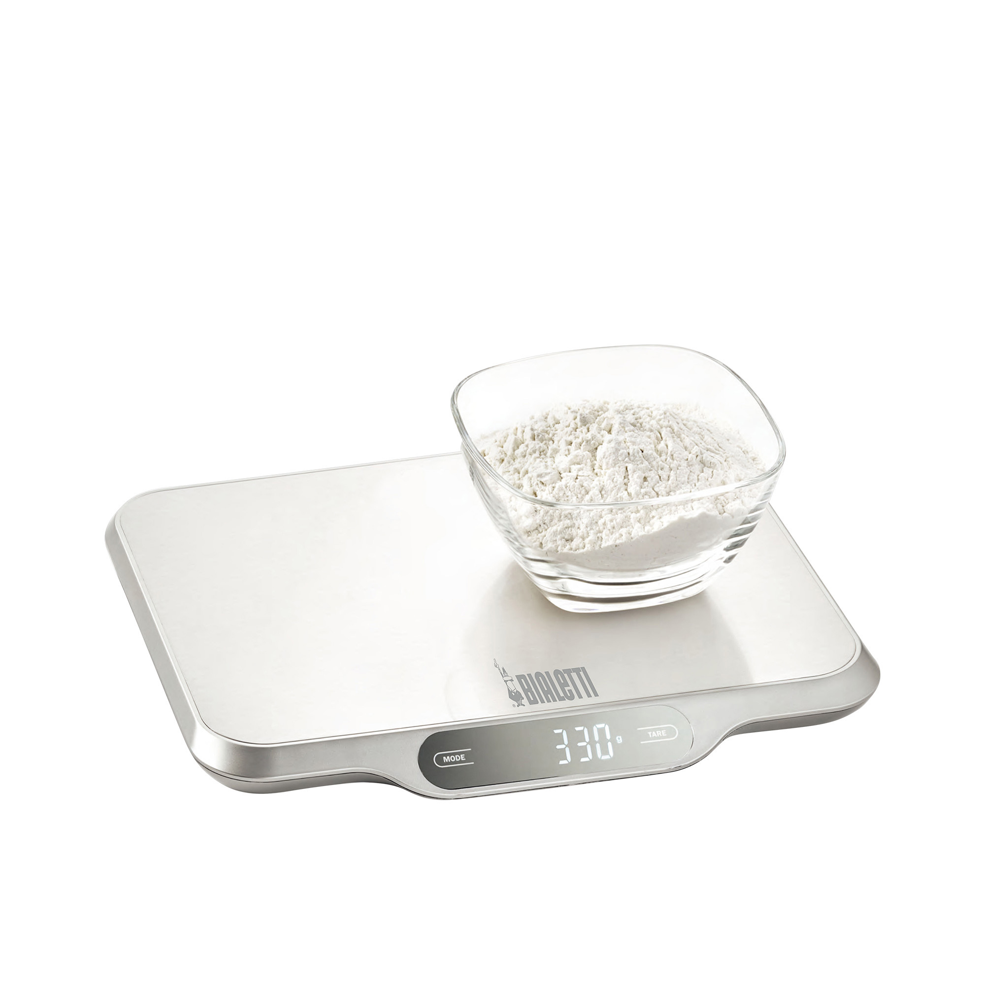 Bialetti Digital Kitchen Scale 15kg Stainless Steel