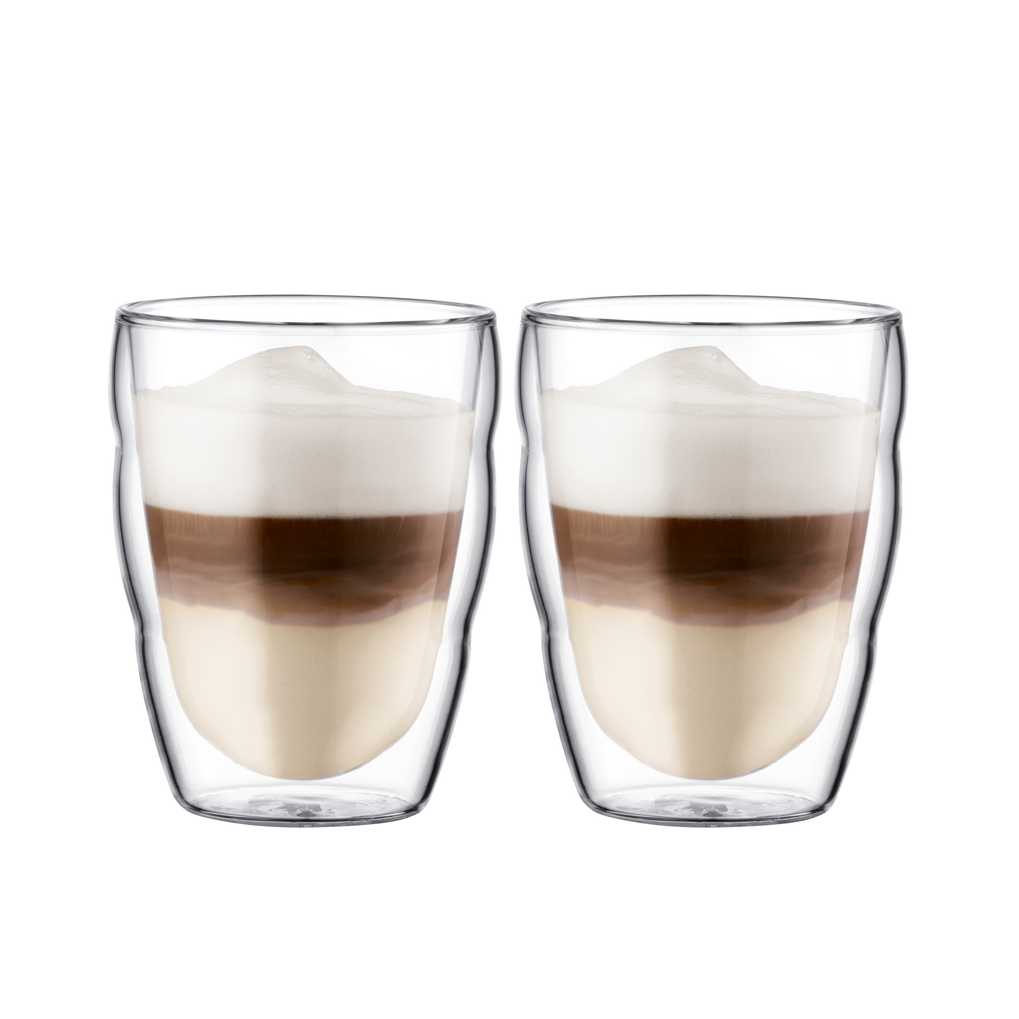 Bodum Pilatus 2pc Double Wall Glass Set 250ml