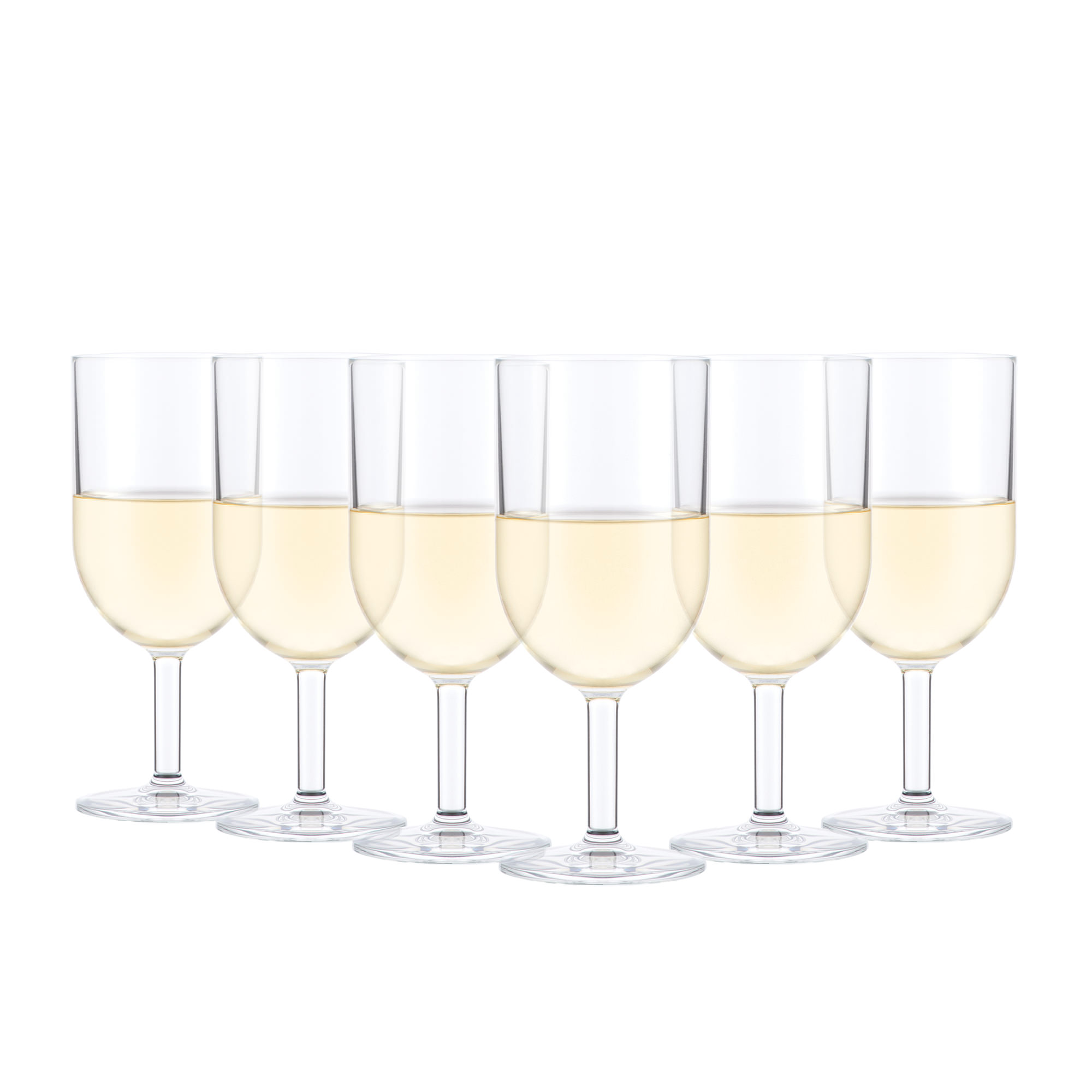 Bodum Oktett 6pc White Wine Glass Set 230ml
