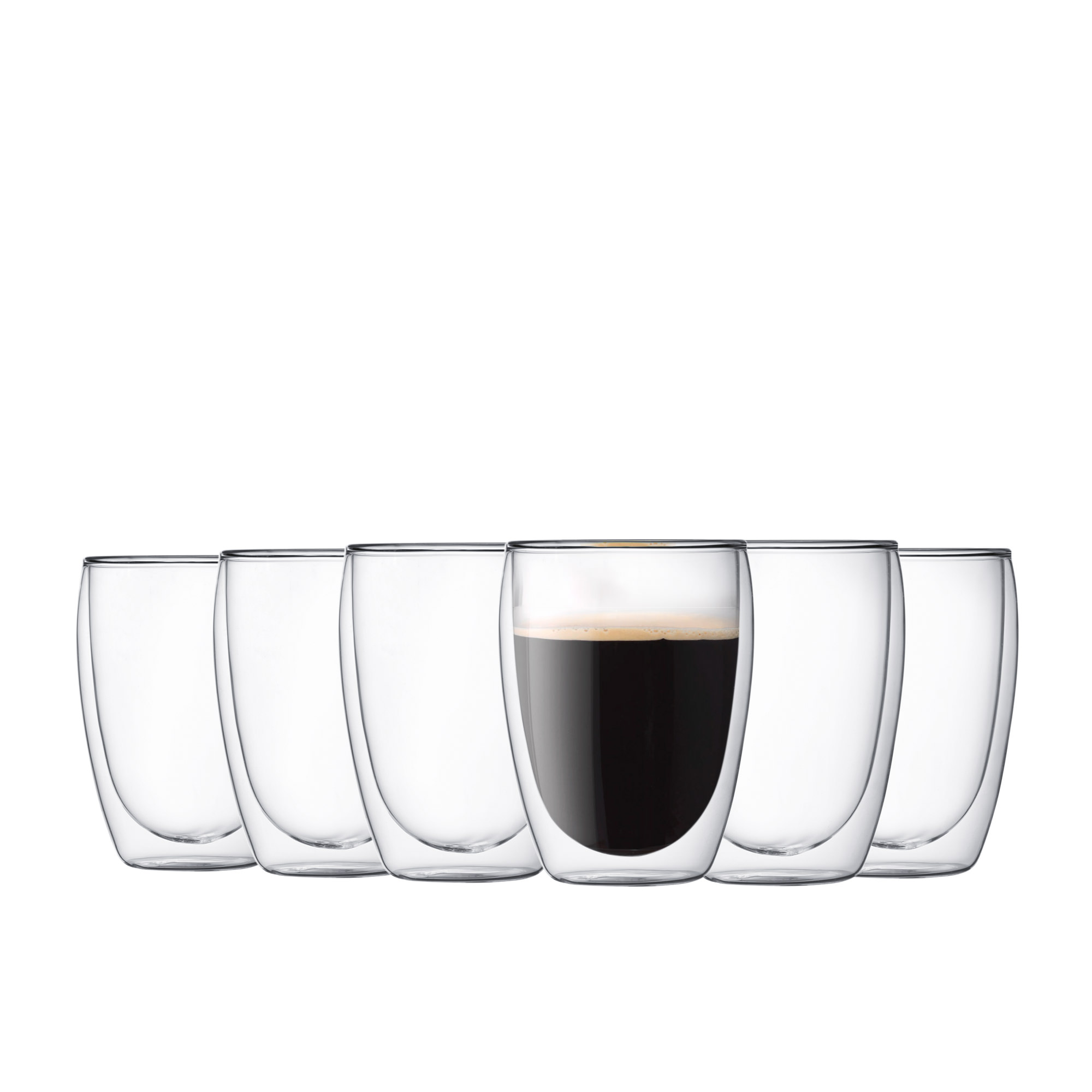 Bodum Pavina Double Wall Glasses 350ml Buy 4 Get 6
