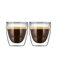 <b>Bodum</b> Pilatus 2pc Double Wall Glass Set 80ml