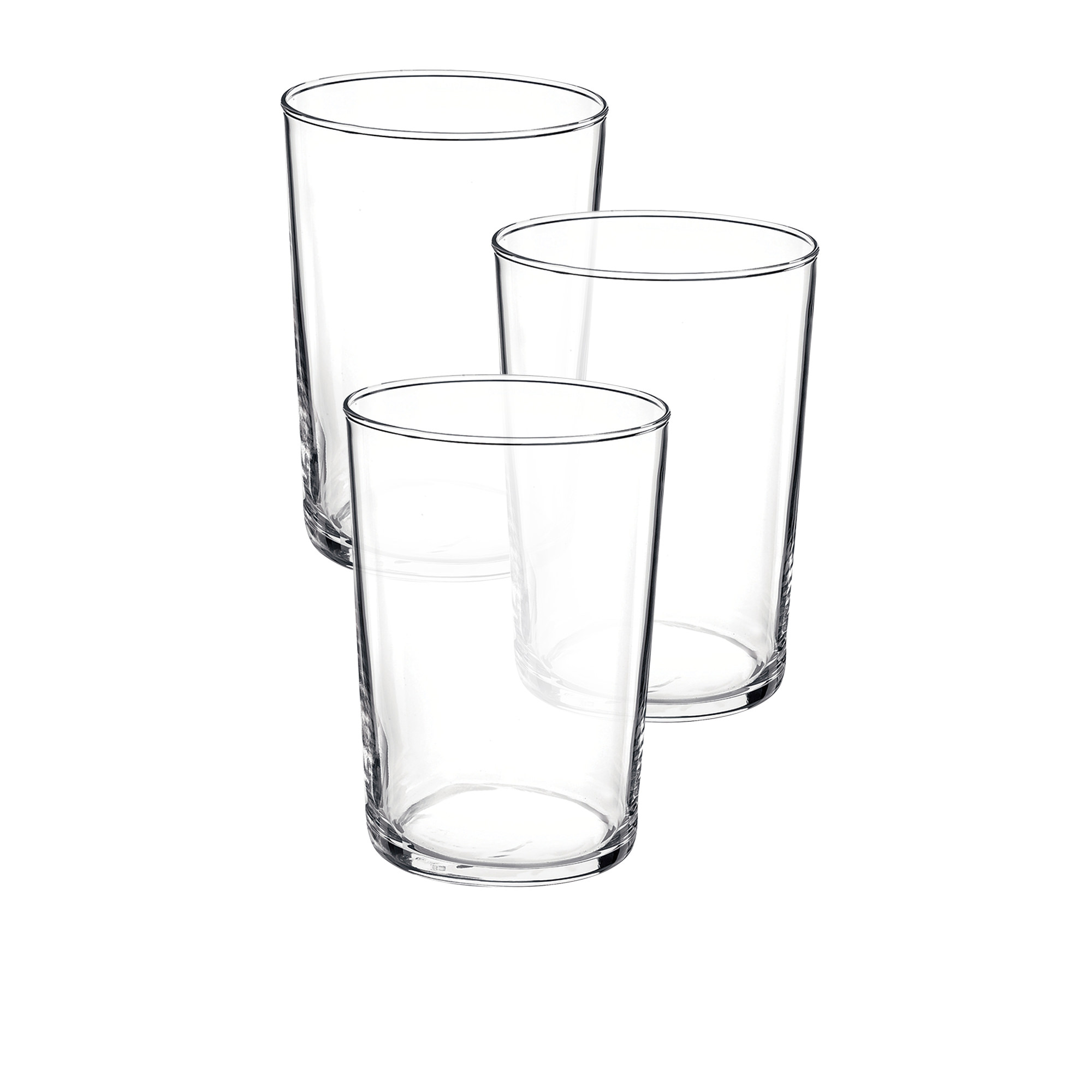 Bormioli Rocco Bodega 3pc Maxi Glass Tumbler Set 500ml