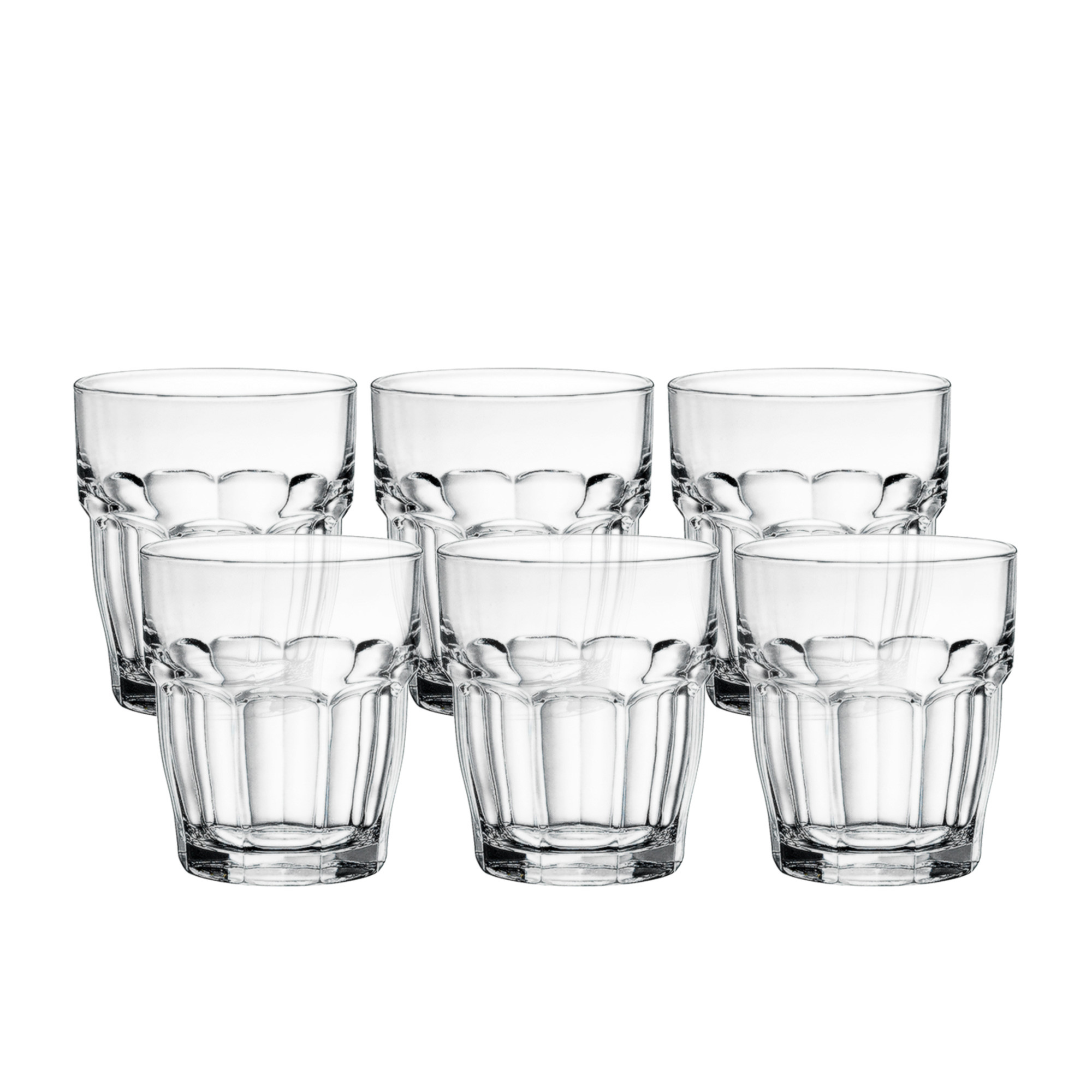 Bormioli Rocco Rock Bar 6pc DOF Glass Set 390ml