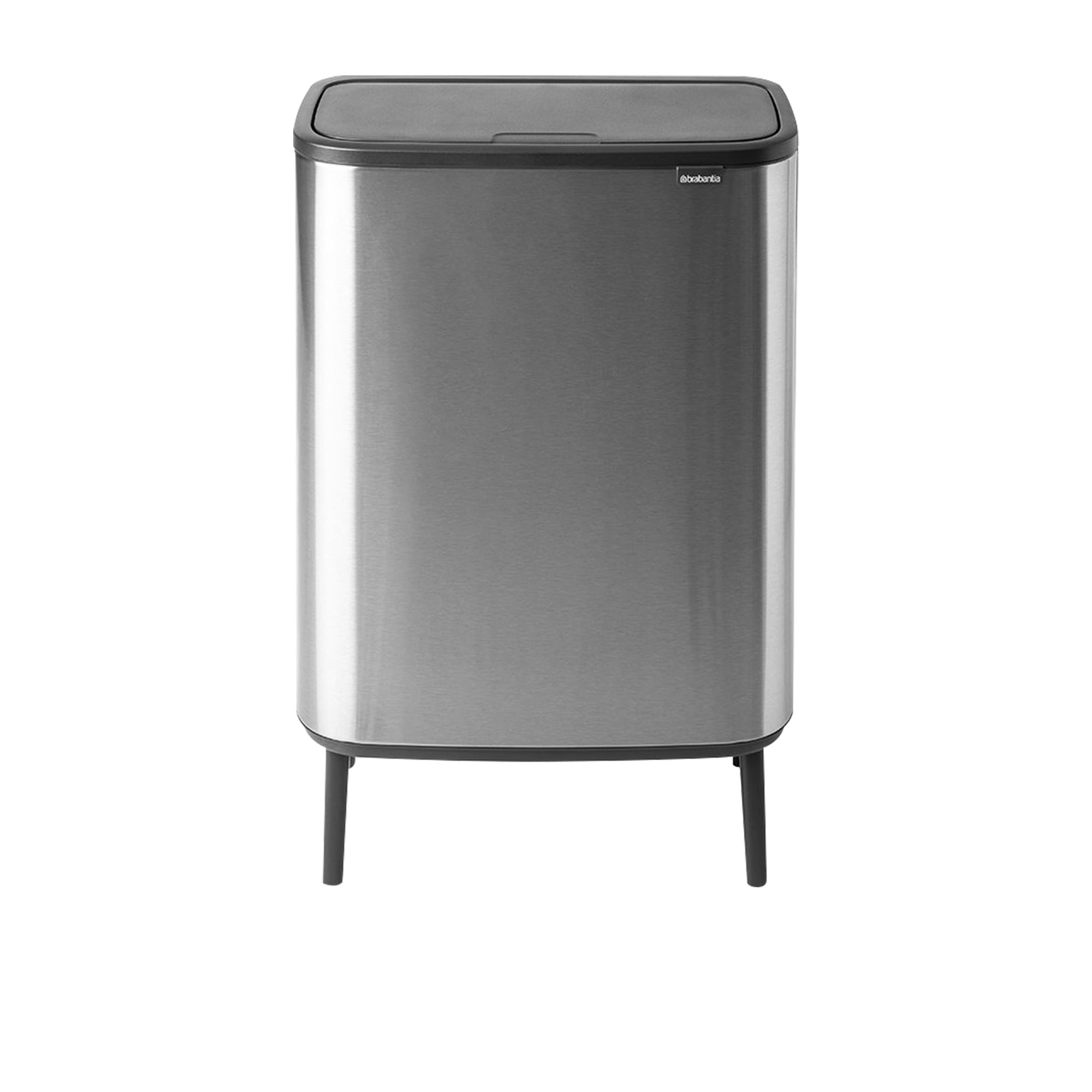 Brabantia Bo Touch Dual Bin Hi Fingerprint Proof 30L+30L Matte Steel
