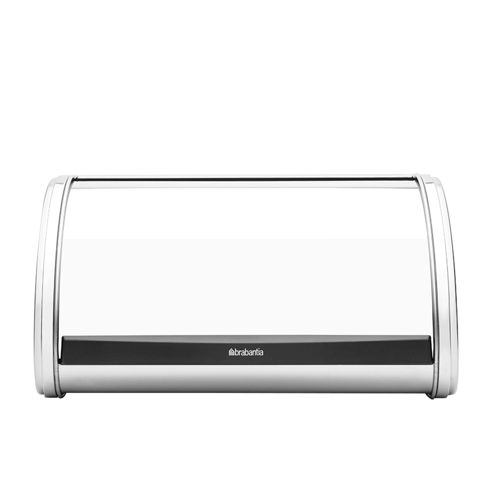 Brabantia Roll Top Bread Bin Medium Brilliant Steel