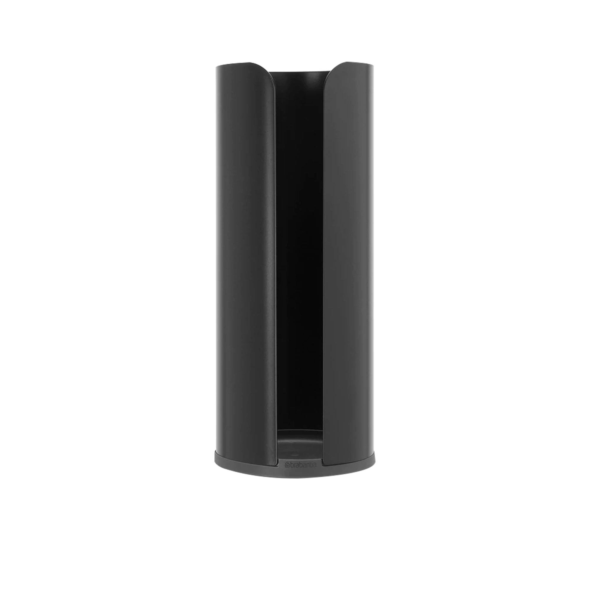 Brabantia Toilet Paper Roll Holder Black