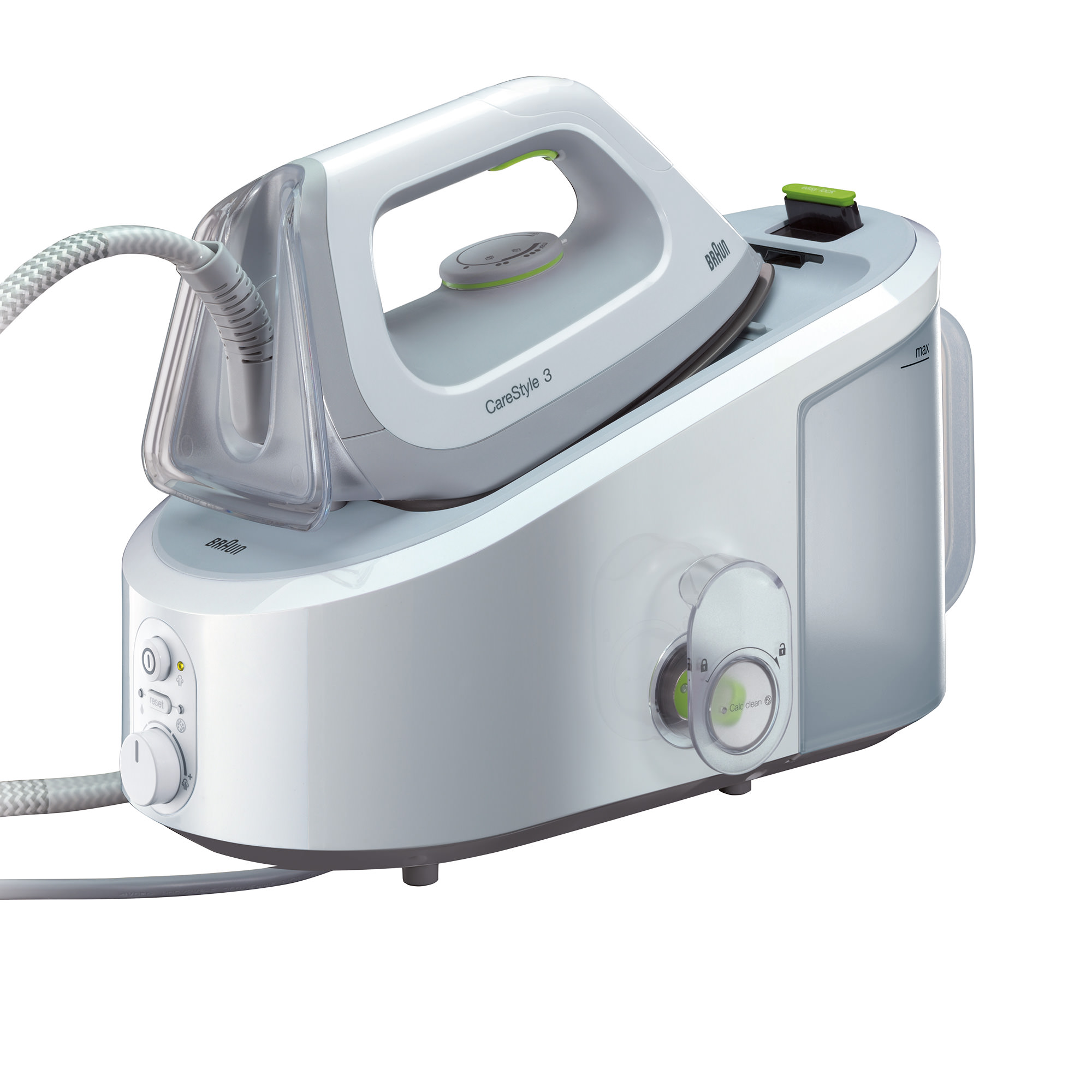 Braun CareStyle 3 Steam Station Silver