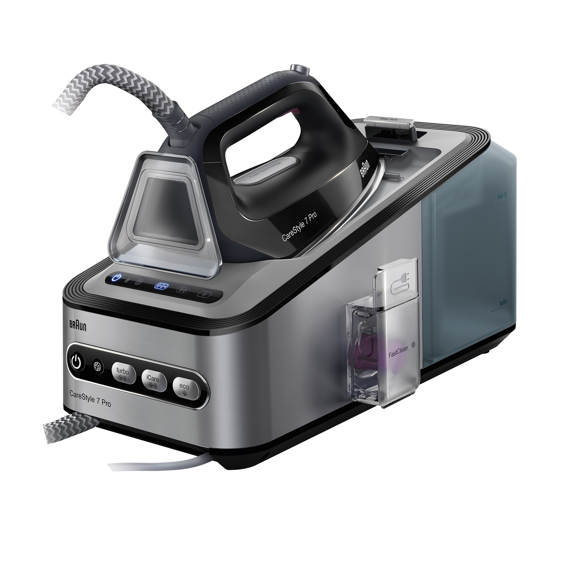 Braun CareStyle 7 Steam Generator Iron Black