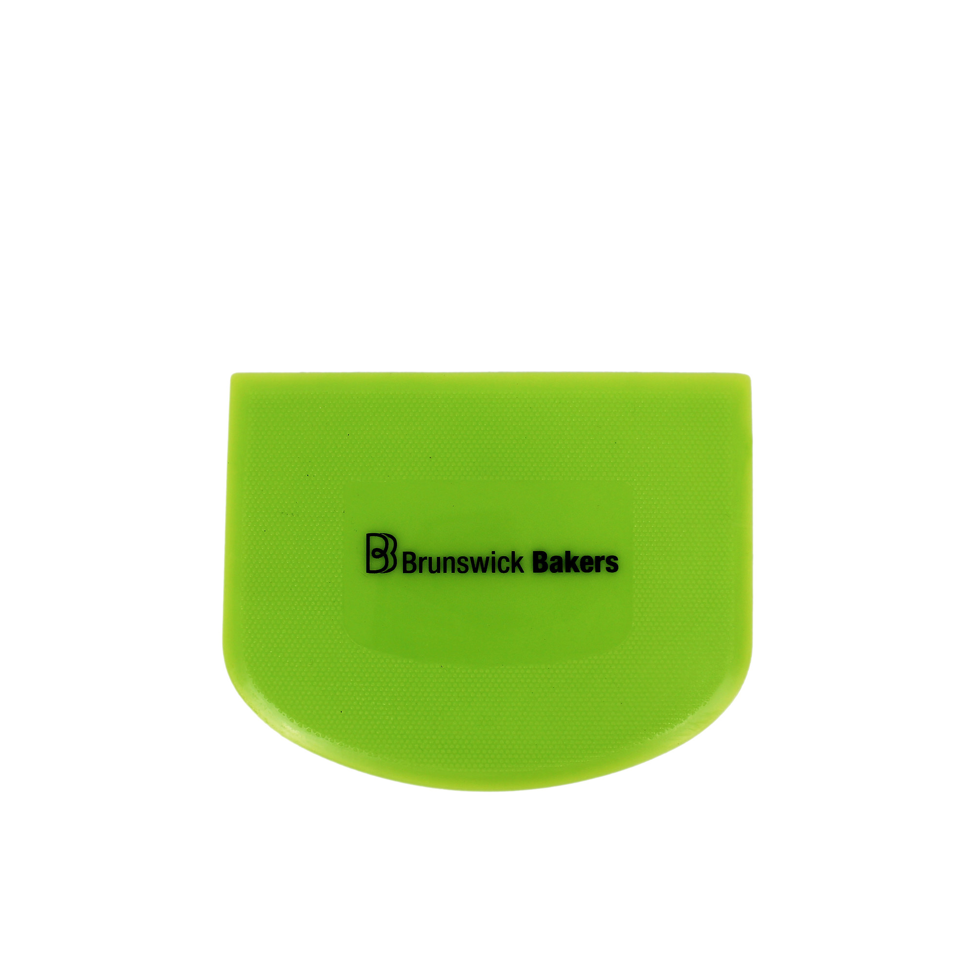 Brunswick Bakers Dough Scraper 11.8x9.3cm Green