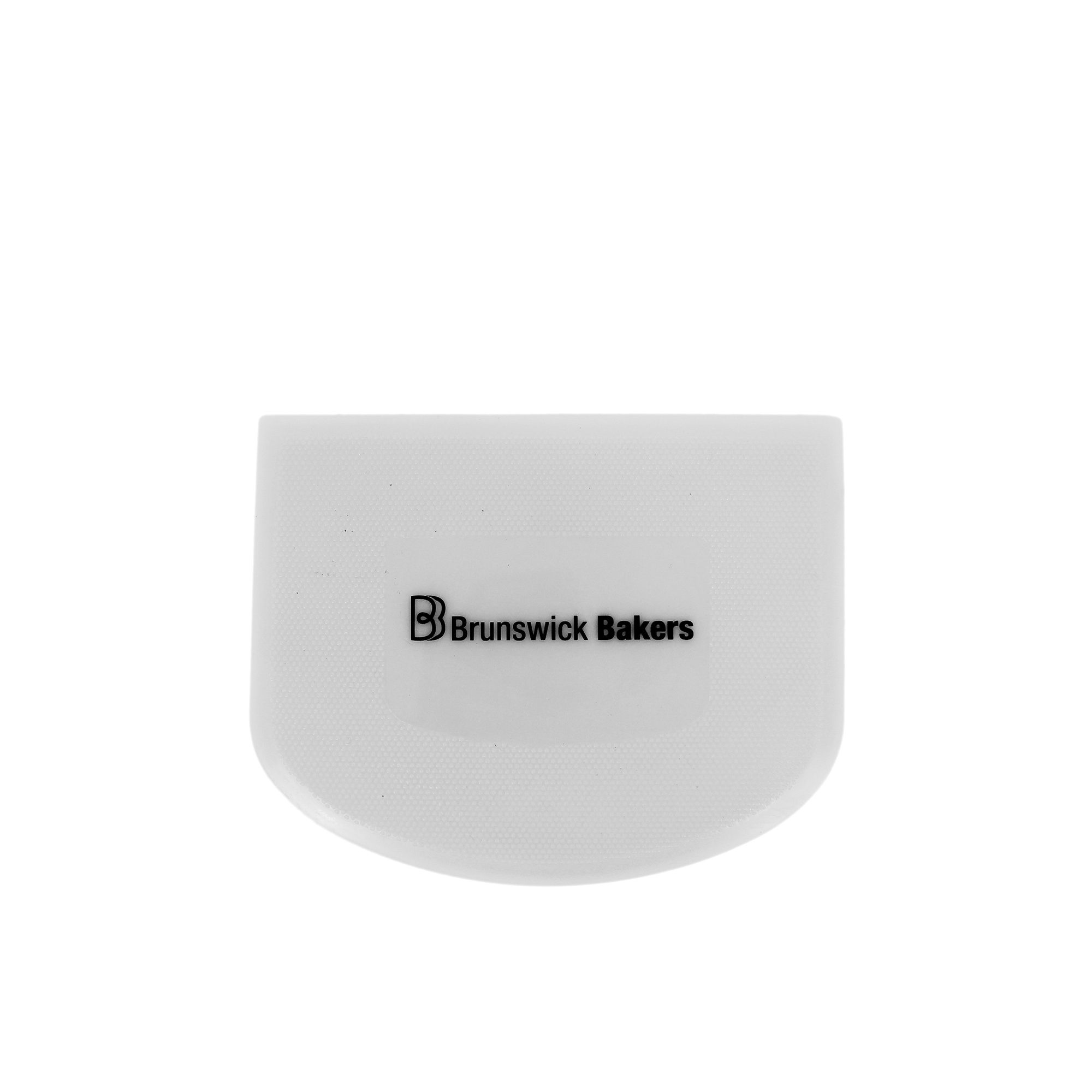 Brunswick Bakers Dough Scraper 11.8x9.3cm White
