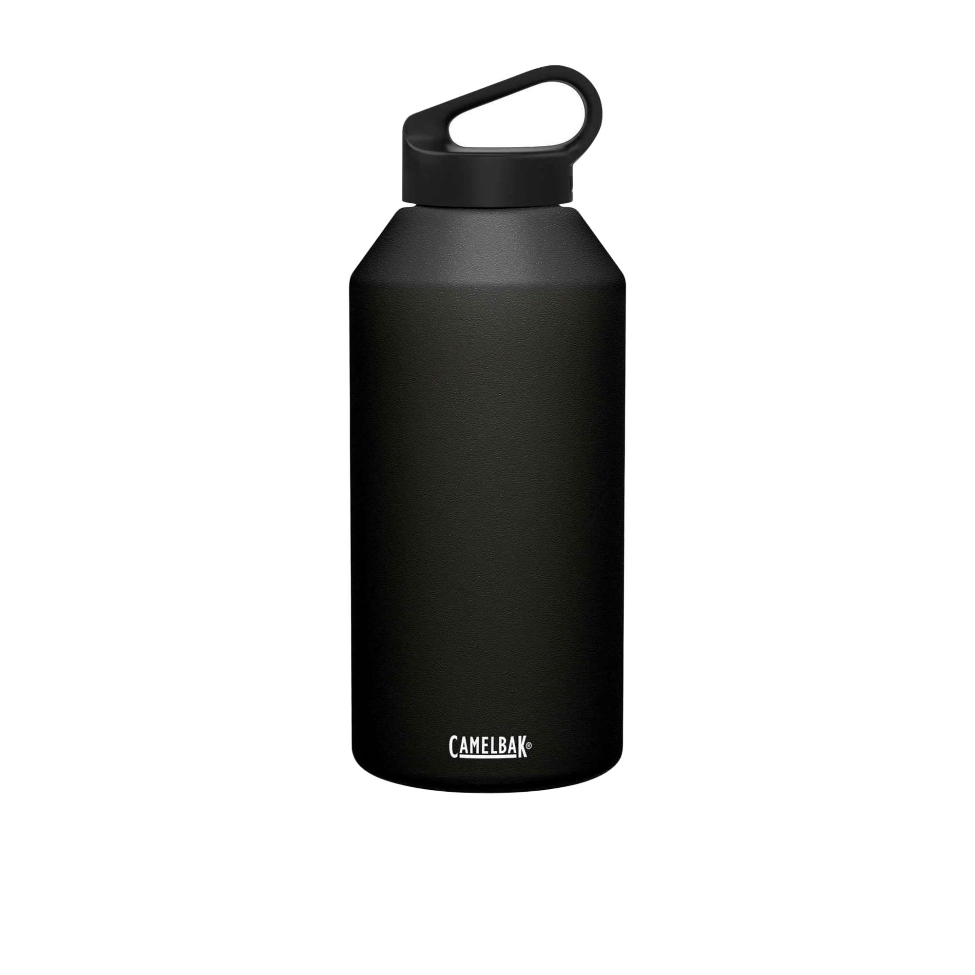 Camelbak Carry Cap Stainless Steel Insulated Drink Bottle 1.9L Black