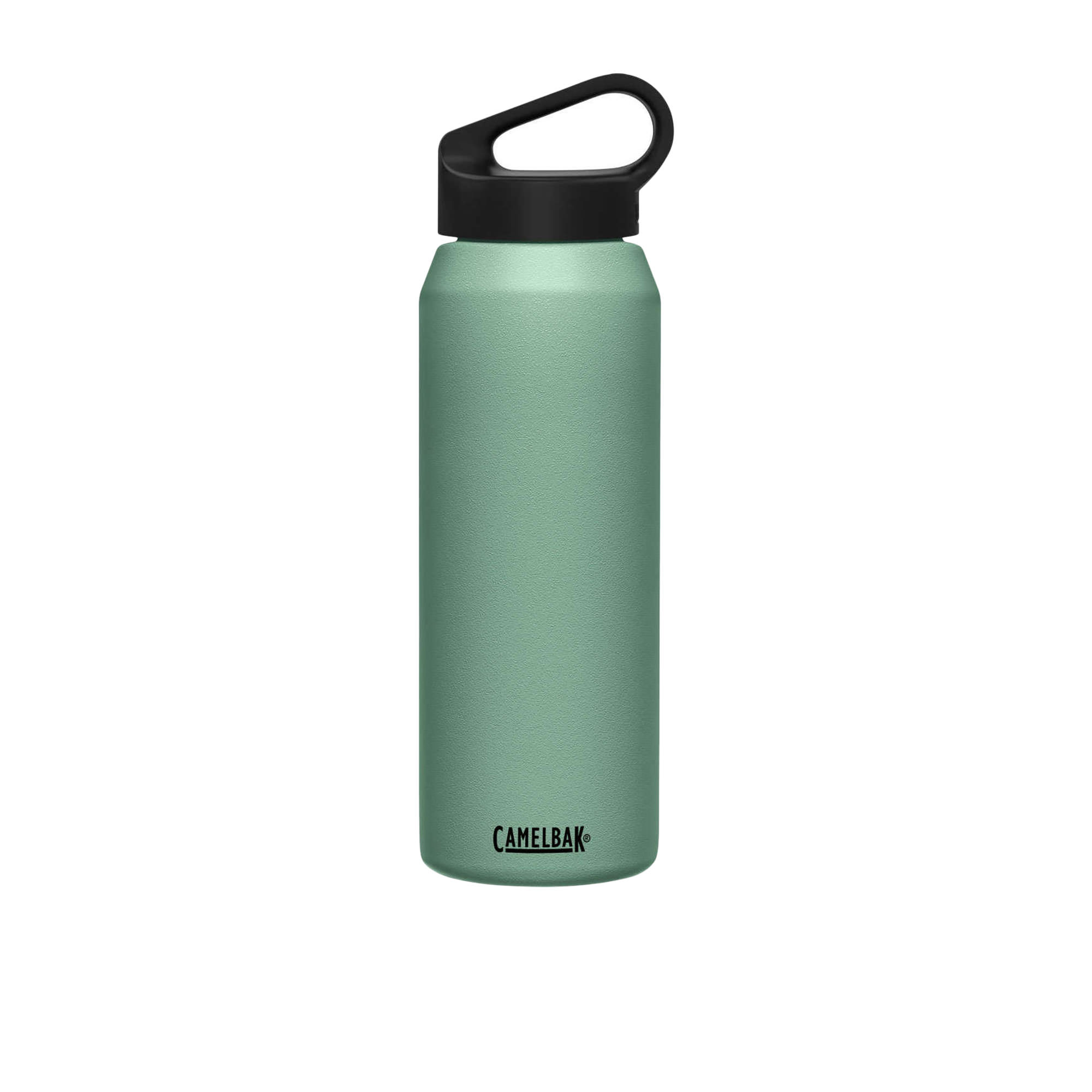 Camelbak Carry Cap Stainless Steel Insulated Drink Bottle 1L Moss Green