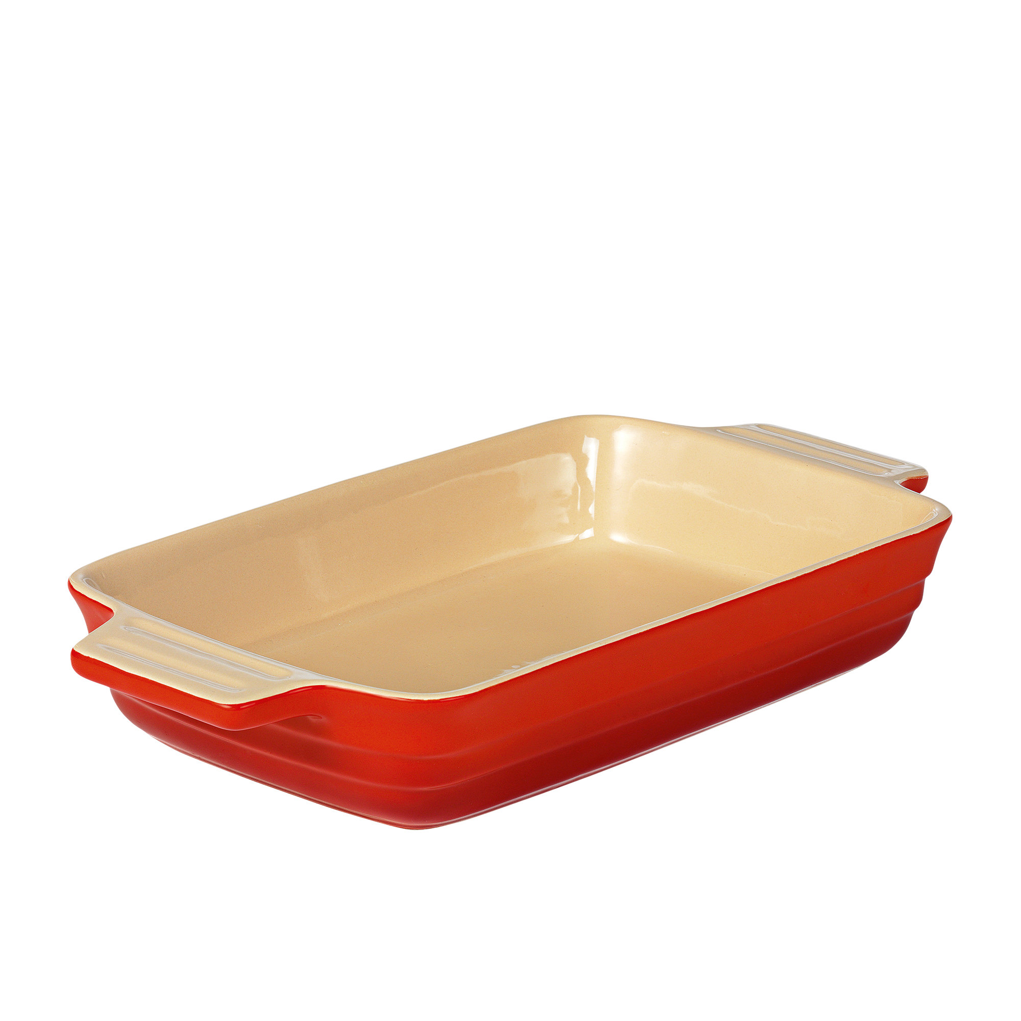 Chasseur La Cuisson XL Rectangular Baker Dish Red