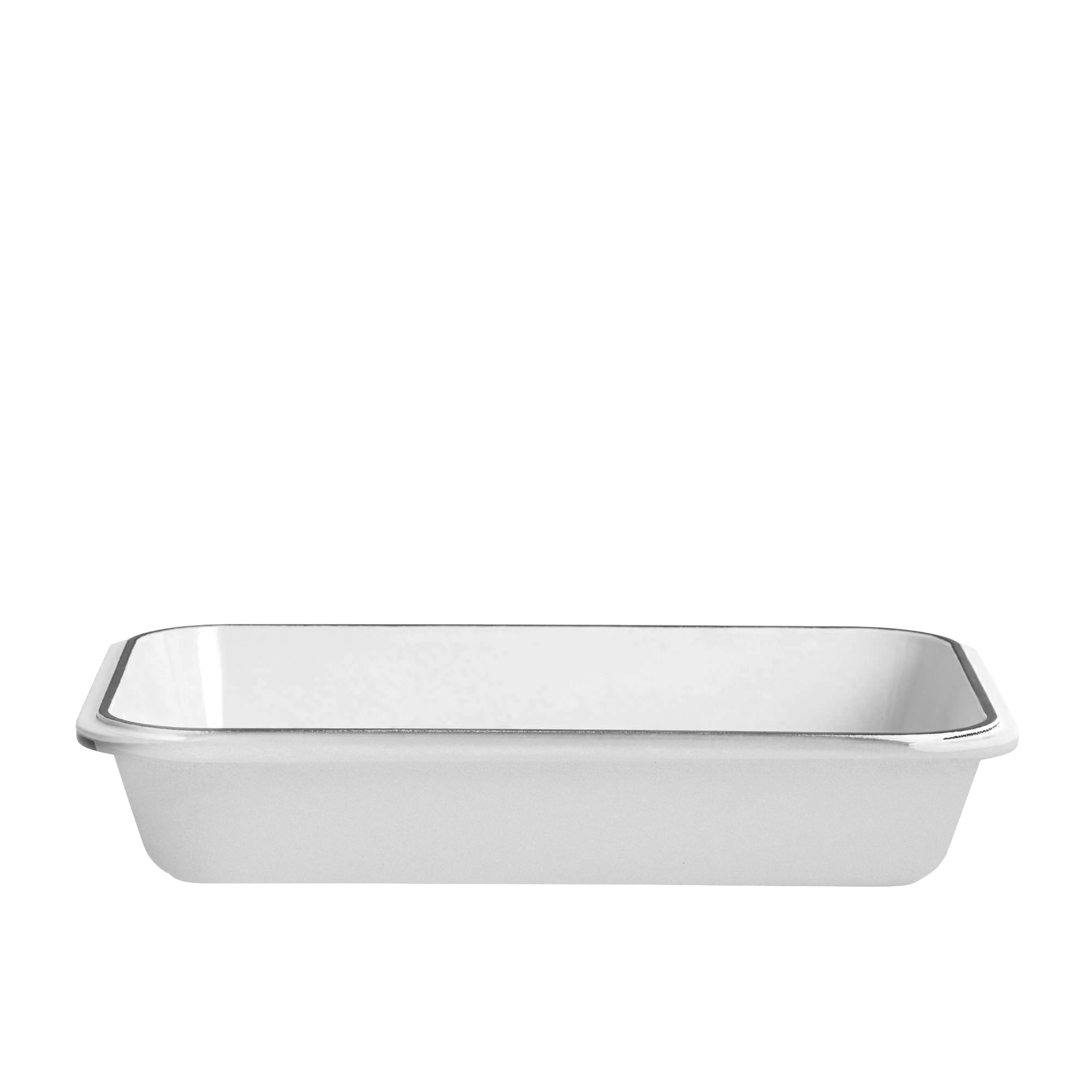 Chasseur Rectangular Roasting Pan 40x26cm Brilliant White