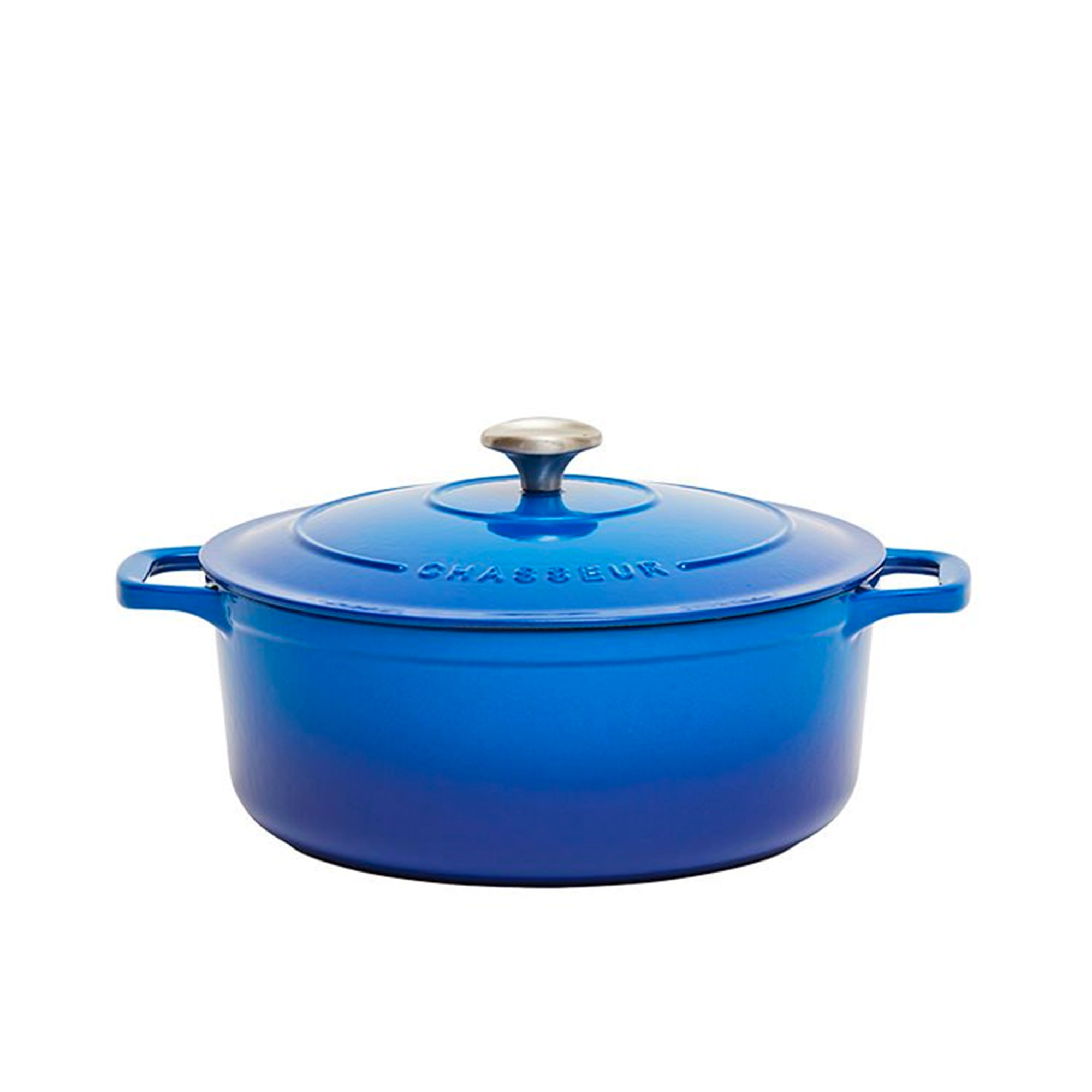 Chasseur Round French Oven 24cm - 4L Imperial Blue