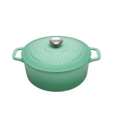 Chasseur Round French Oven 24cm - 4L Peppermint