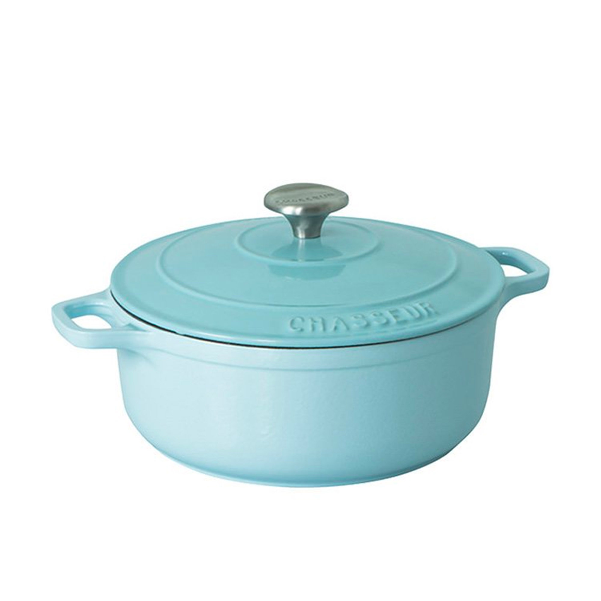 Chasseur Round French Oven 26cm - 5L Duck Egg Blue