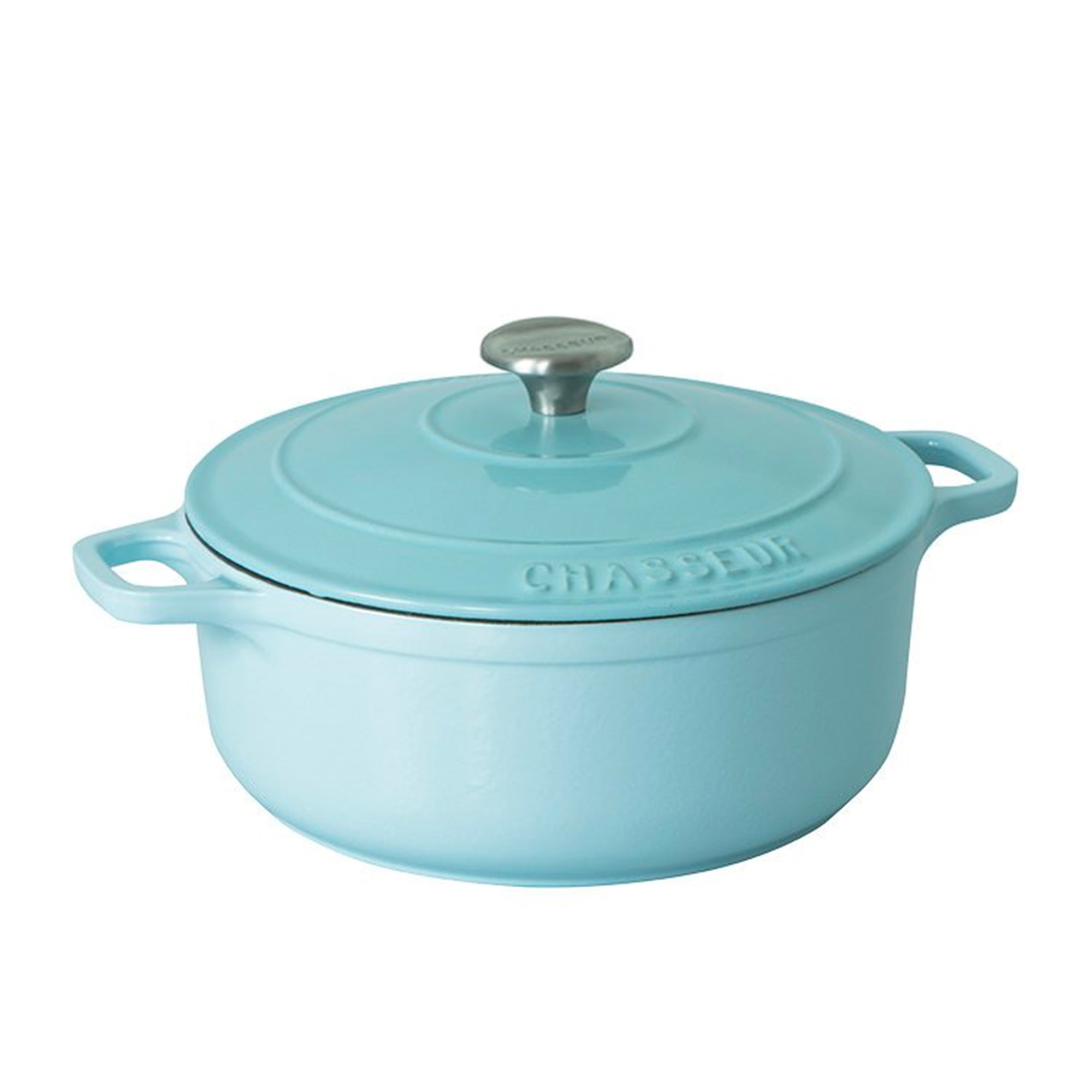 Chasseur Round French Oven 28cm - 6.1L Duck Egg Blue