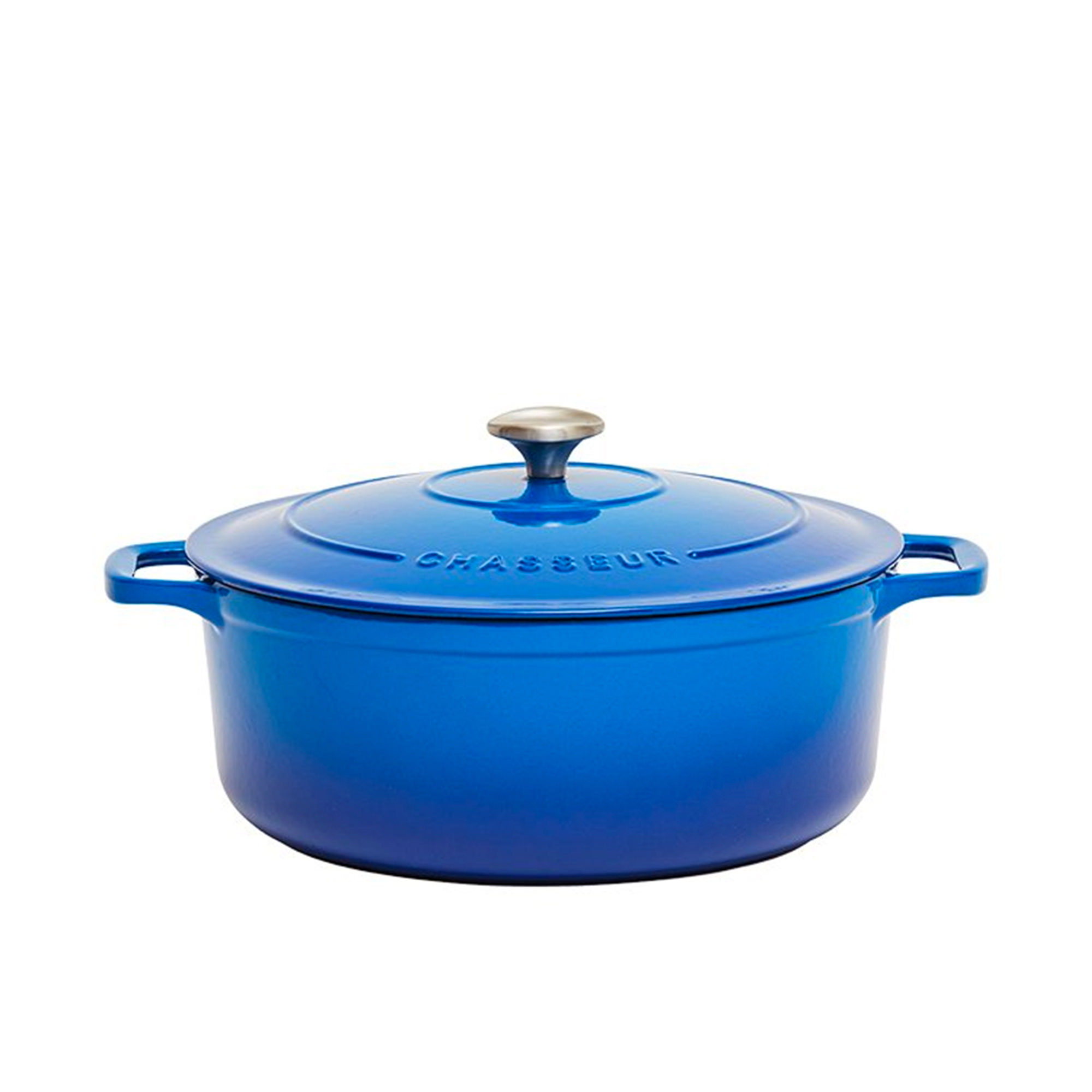 Chasseur Round French Oven 28cm - 6.1L Imperial Blue