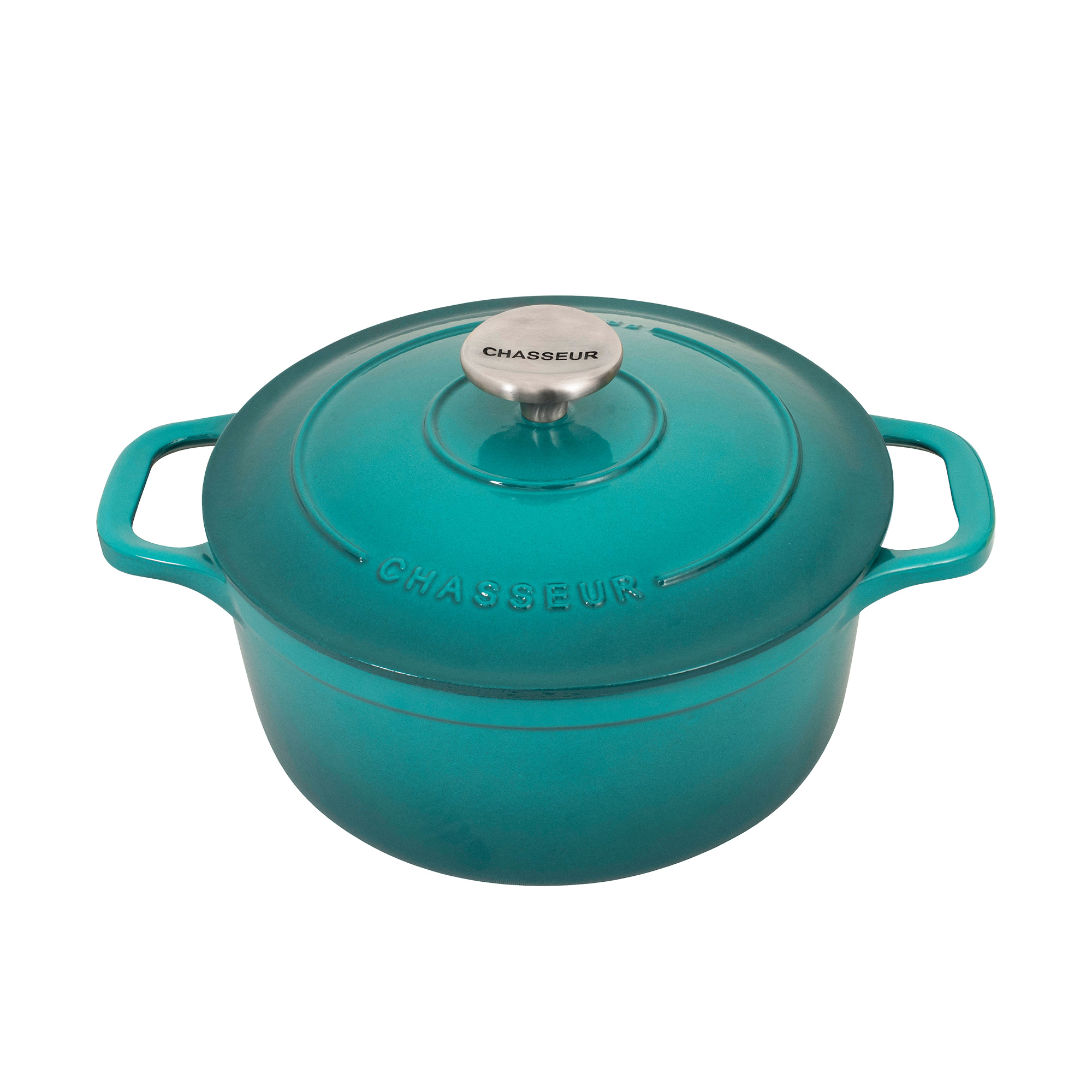 Chasseur Round French Oven 28cm - 6.1L Mediterranean Blue