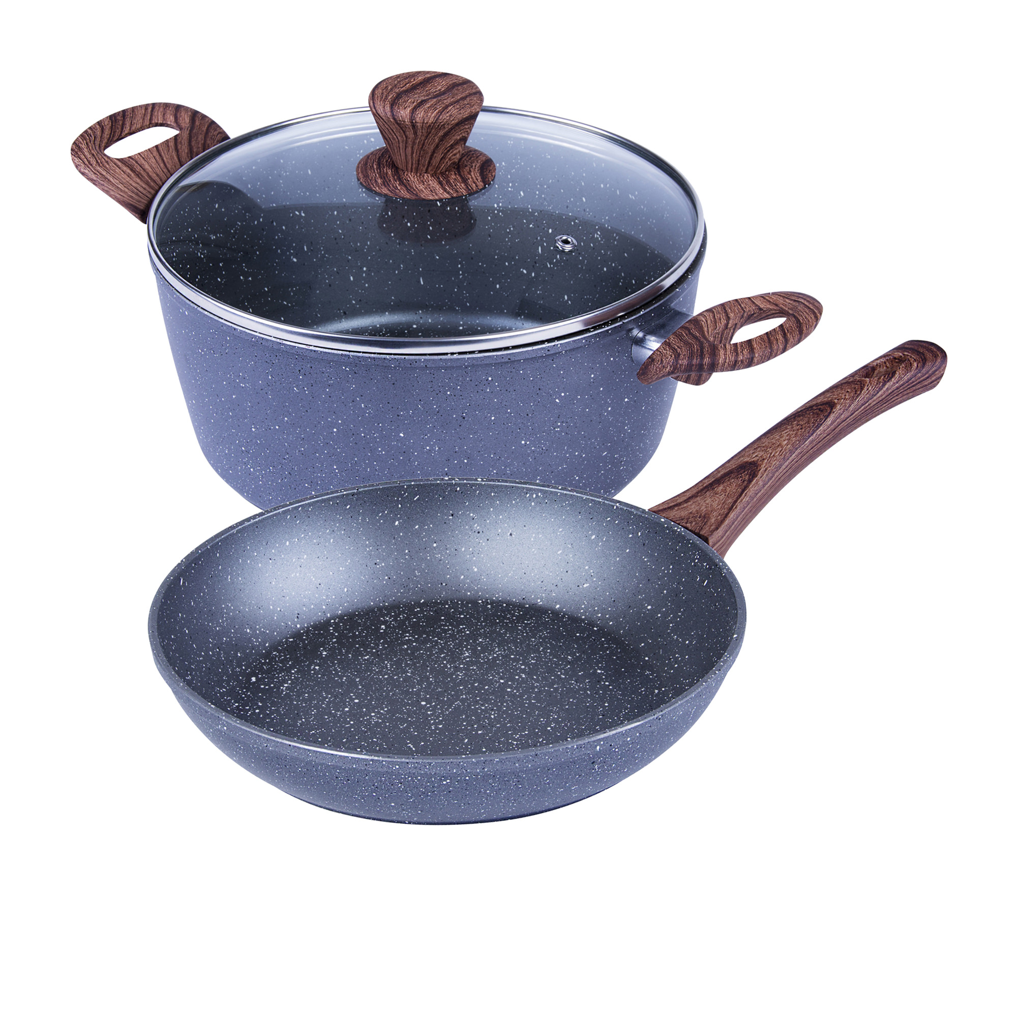 Clevinger 2pc Non-Stick Cookware Set