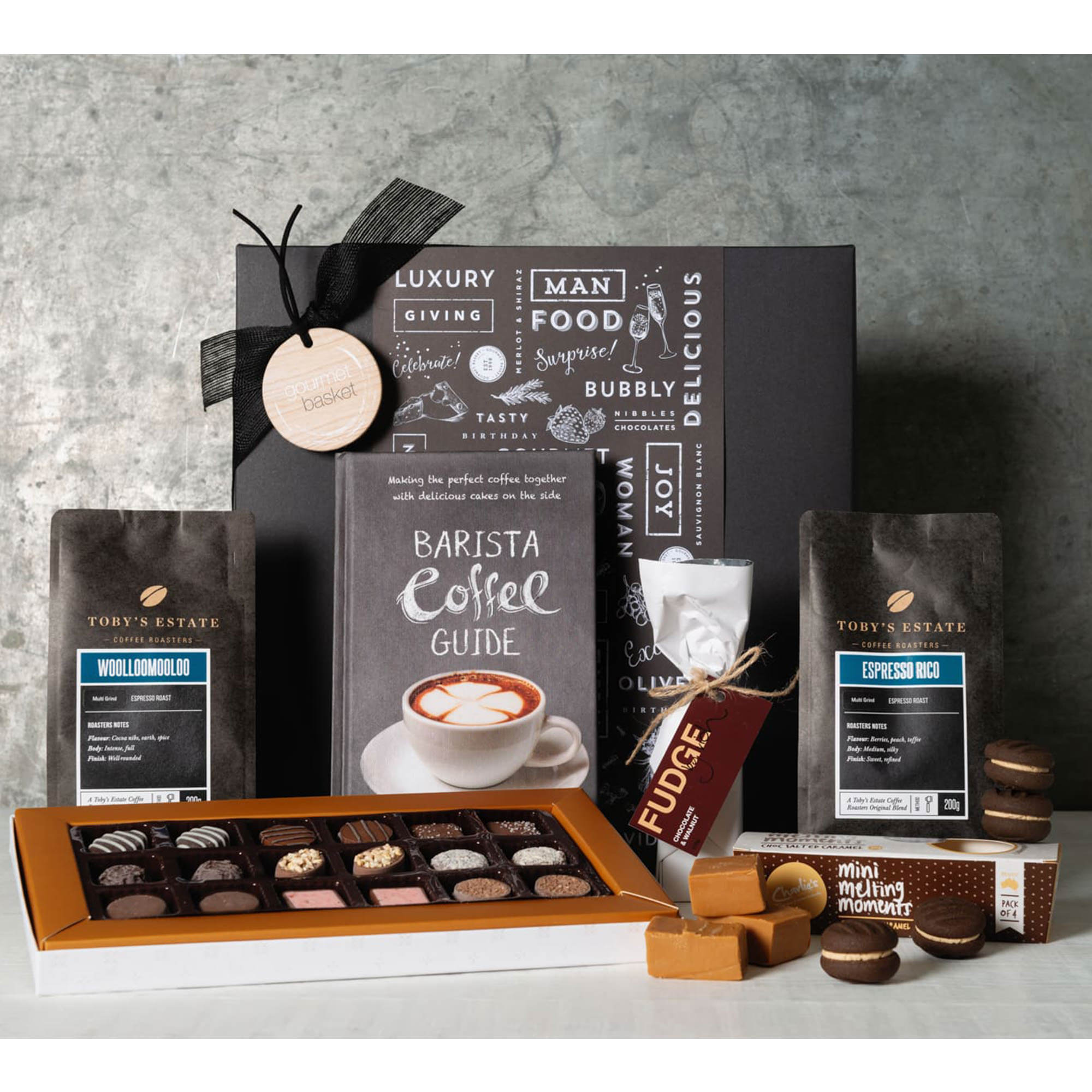 Gourmet Basket Coffee and Chocolate Lover