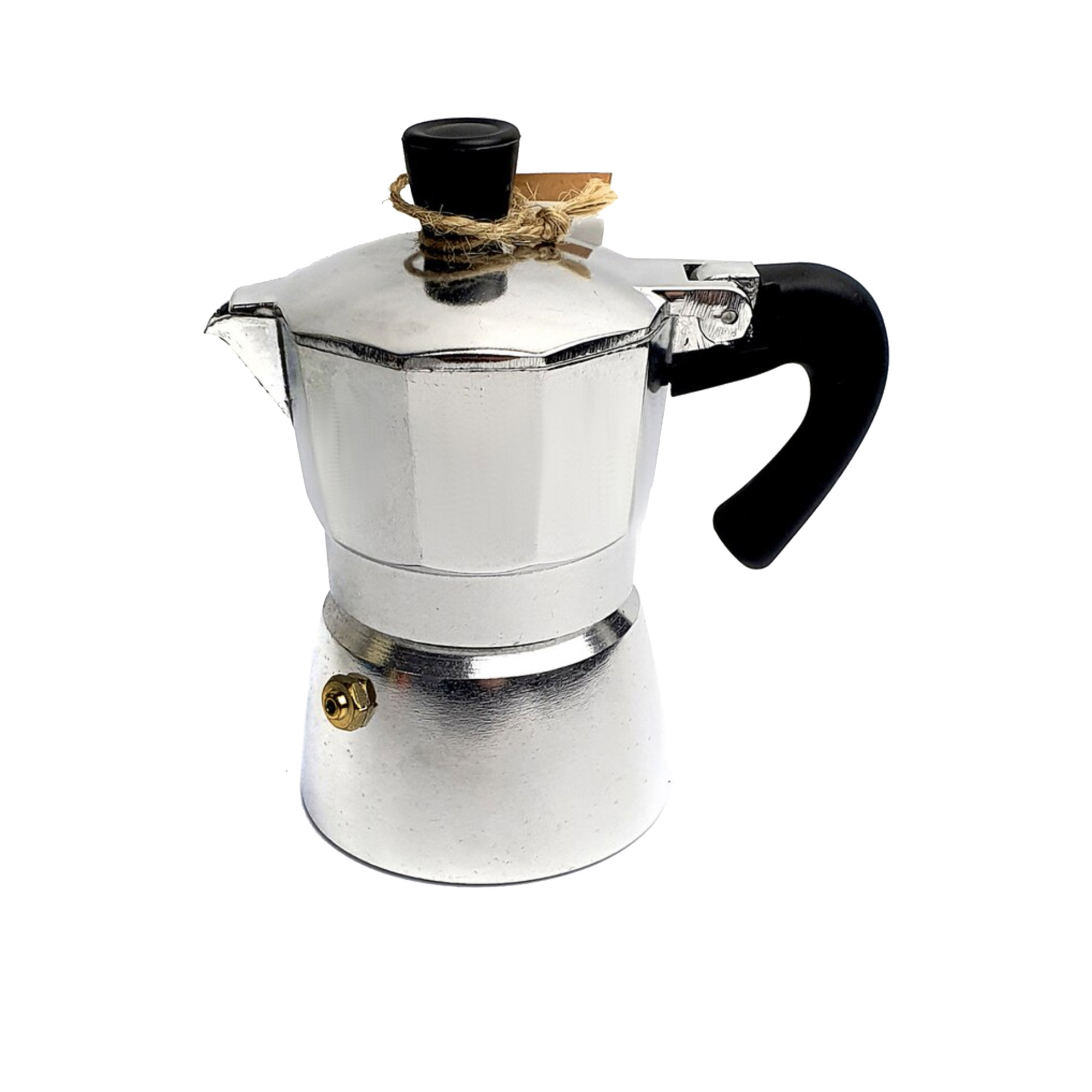 Coffee Culture Coffee Maker 1 Cup Silver
