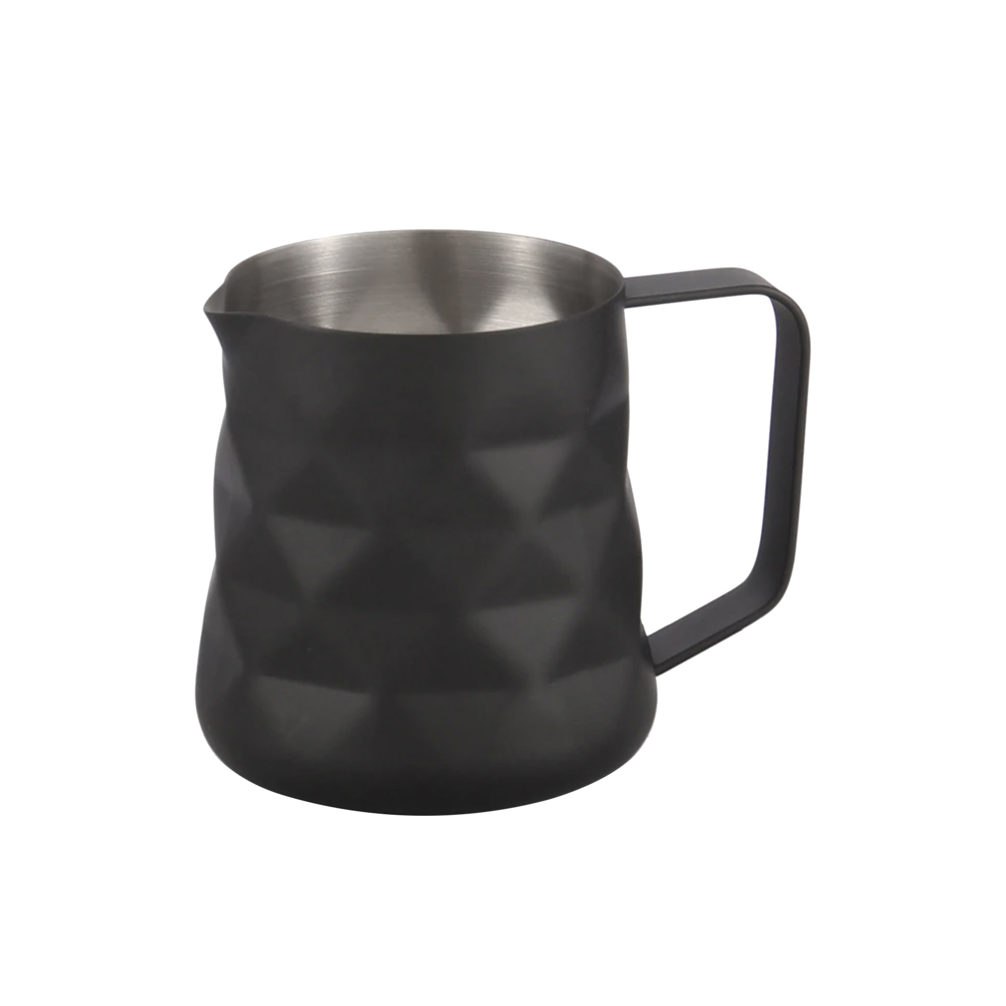 Coffee Culture Diamond Milk Frothing Jug 350ml Matte Black