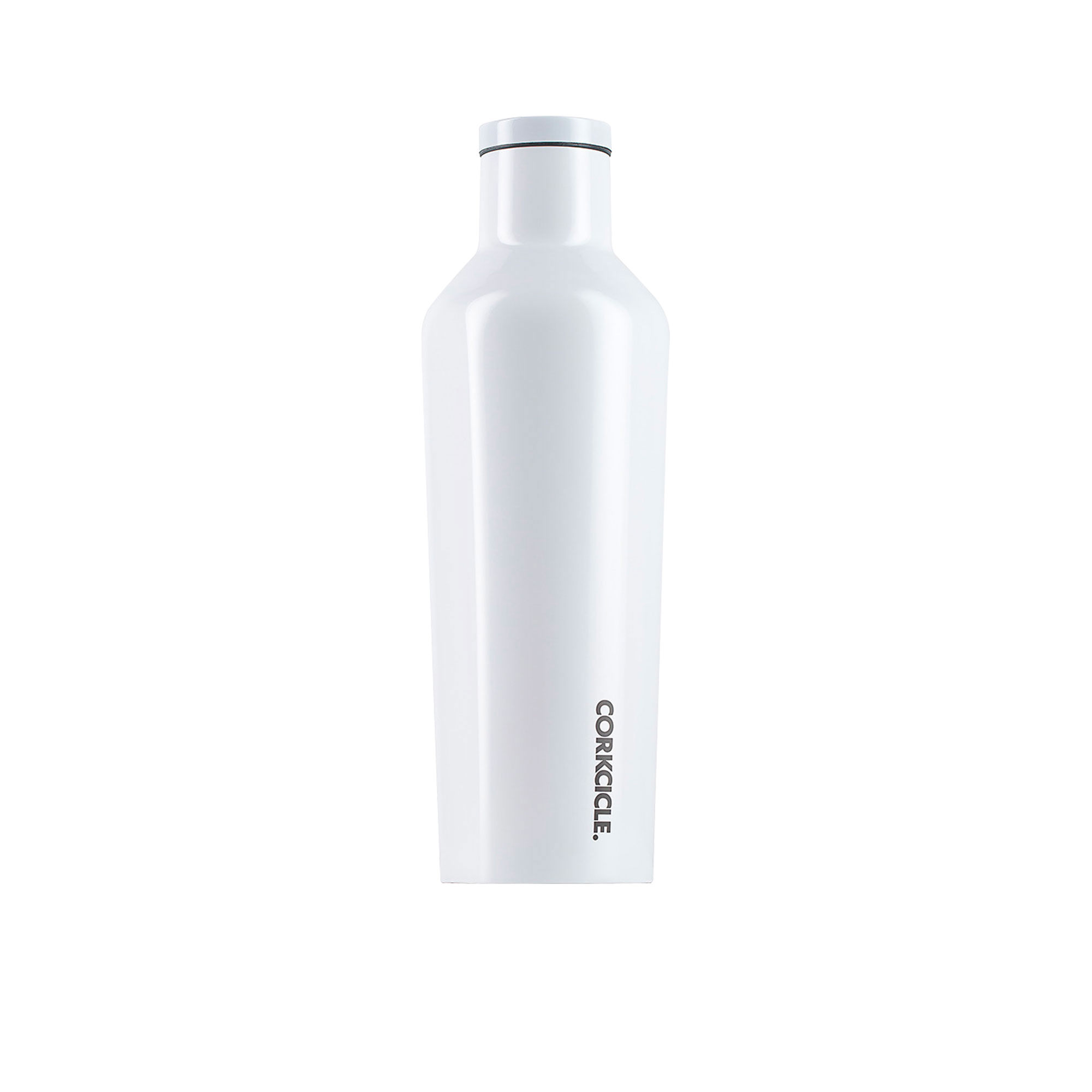 Corkcicle Dipped Canteen Insulated Drink Bottle 475ml Modernist White