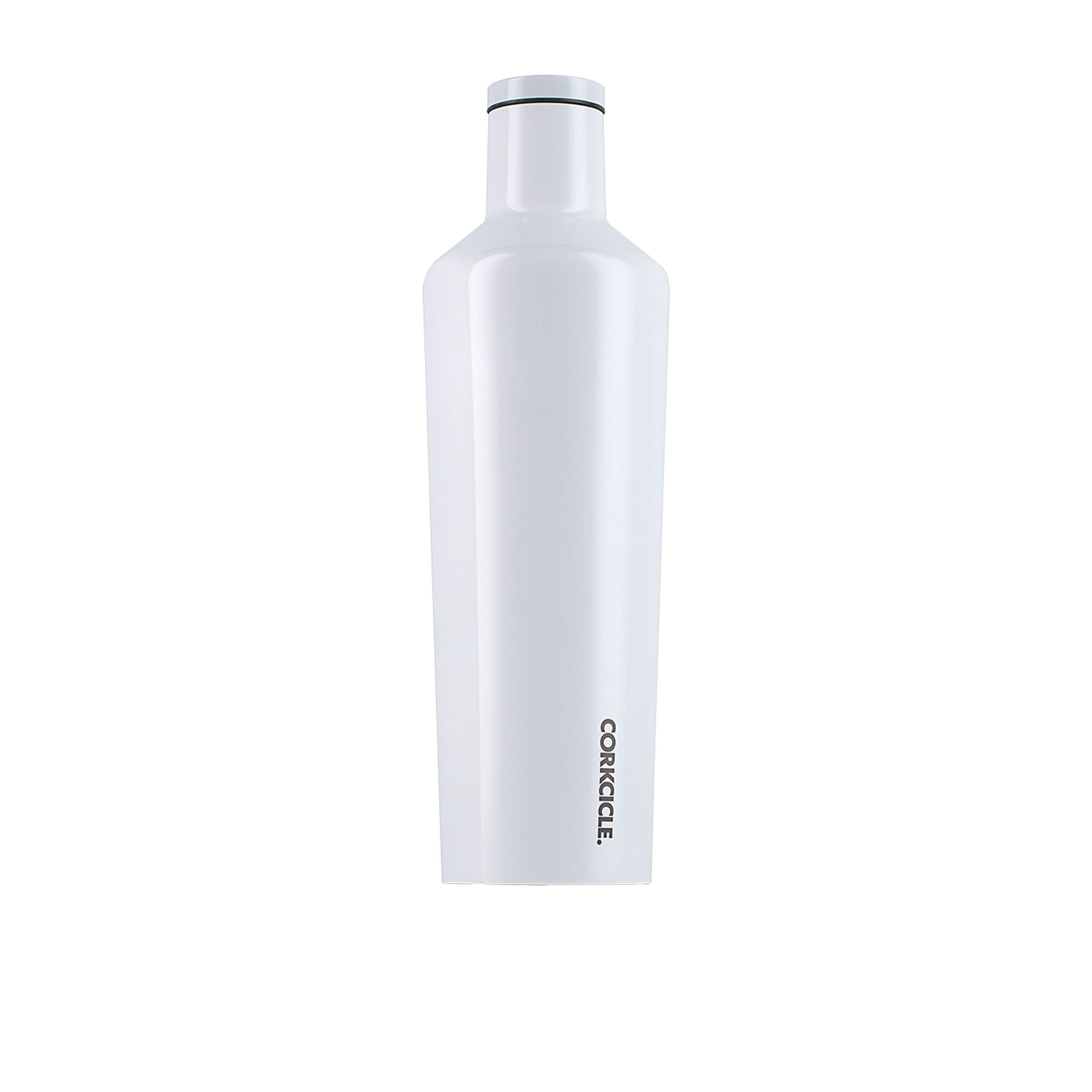 Corkcicle Dipped Canteen Insulated Drink Bottle 750ml Modernist White