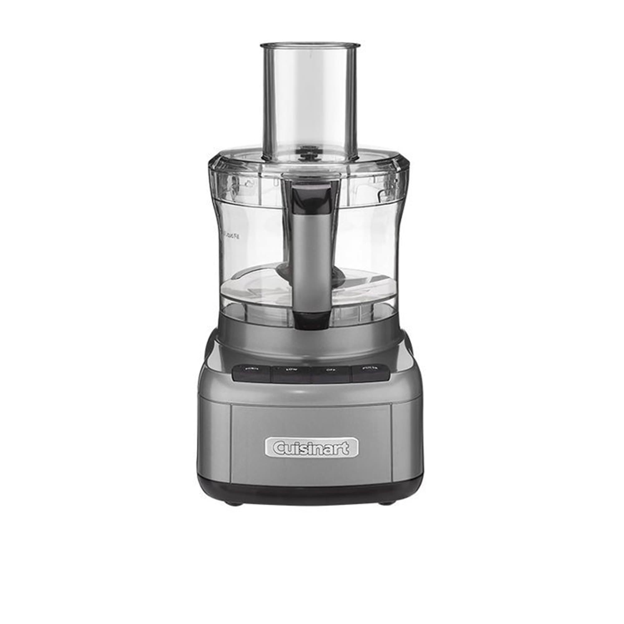 Cuisinart Food Processor 8 Cup Gun Metal Grey