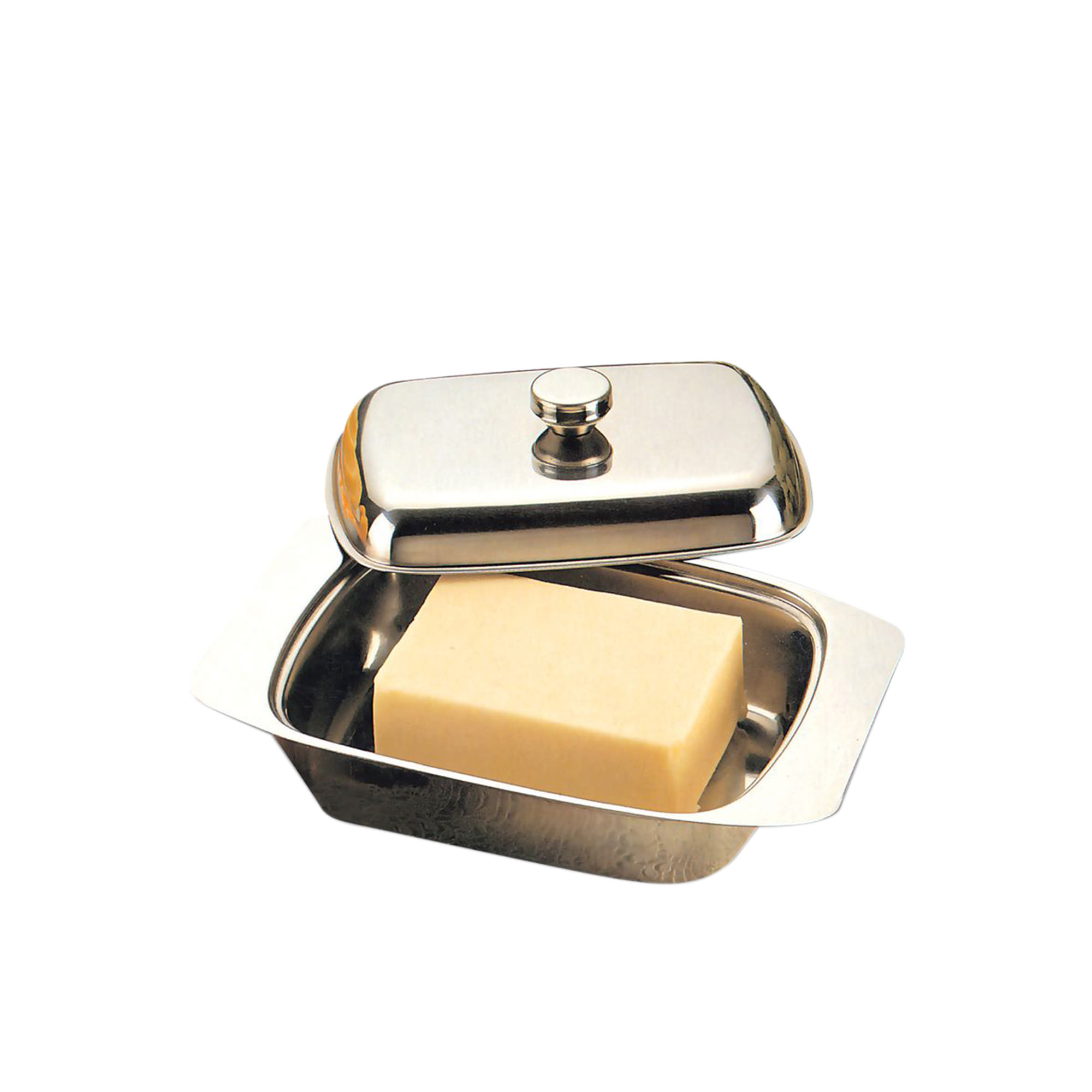 D.Line Butter Dish Stainless Steel with Cover