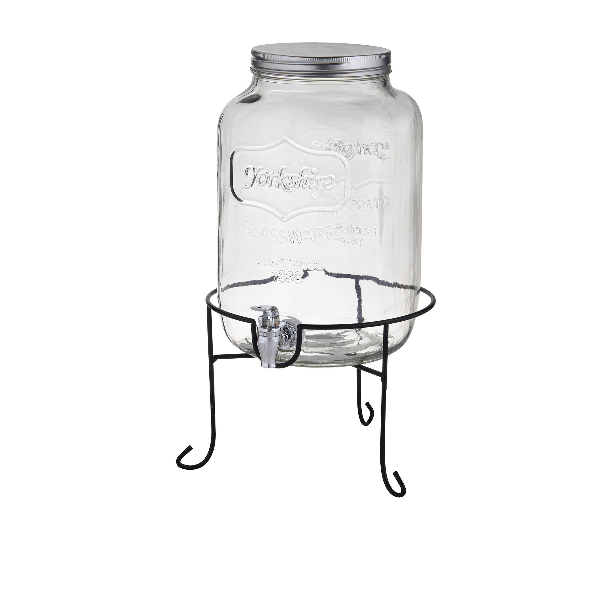 Davis & Waddell Retro Drink Dispenser w/ Stand 7.5L
