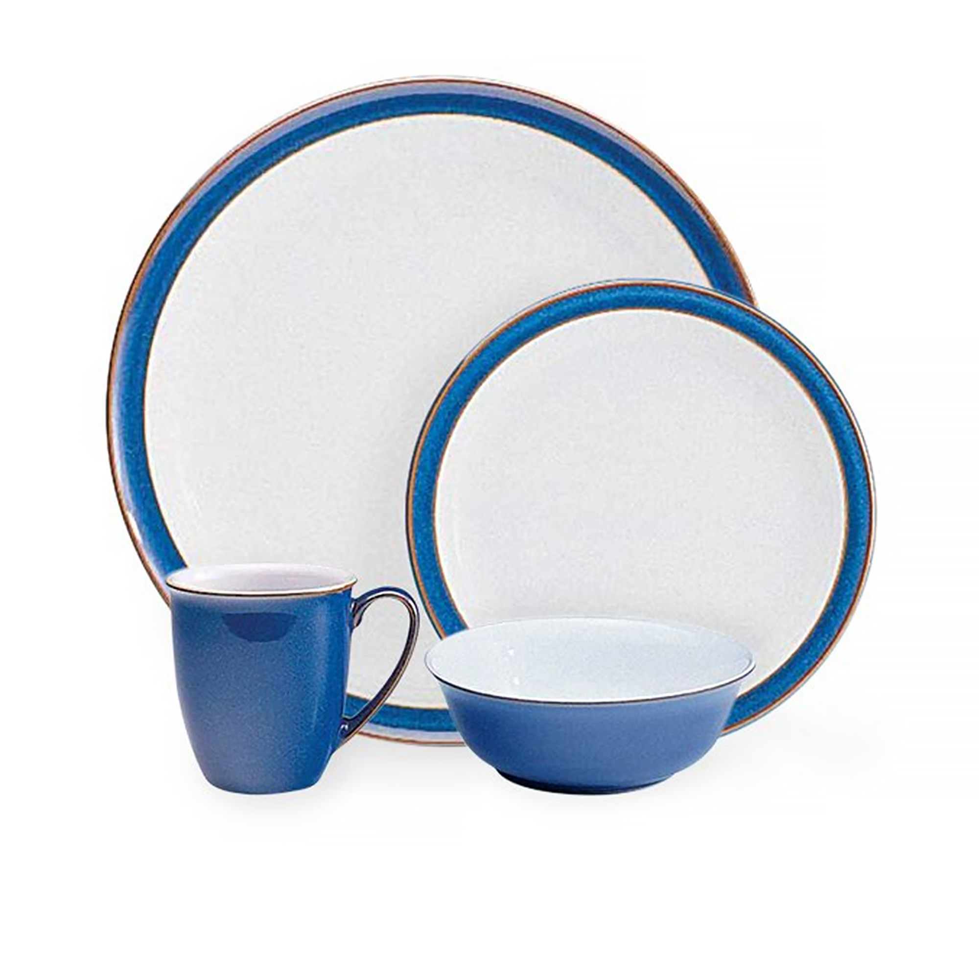 Denby Imperial Blue Dinner Set 16pc