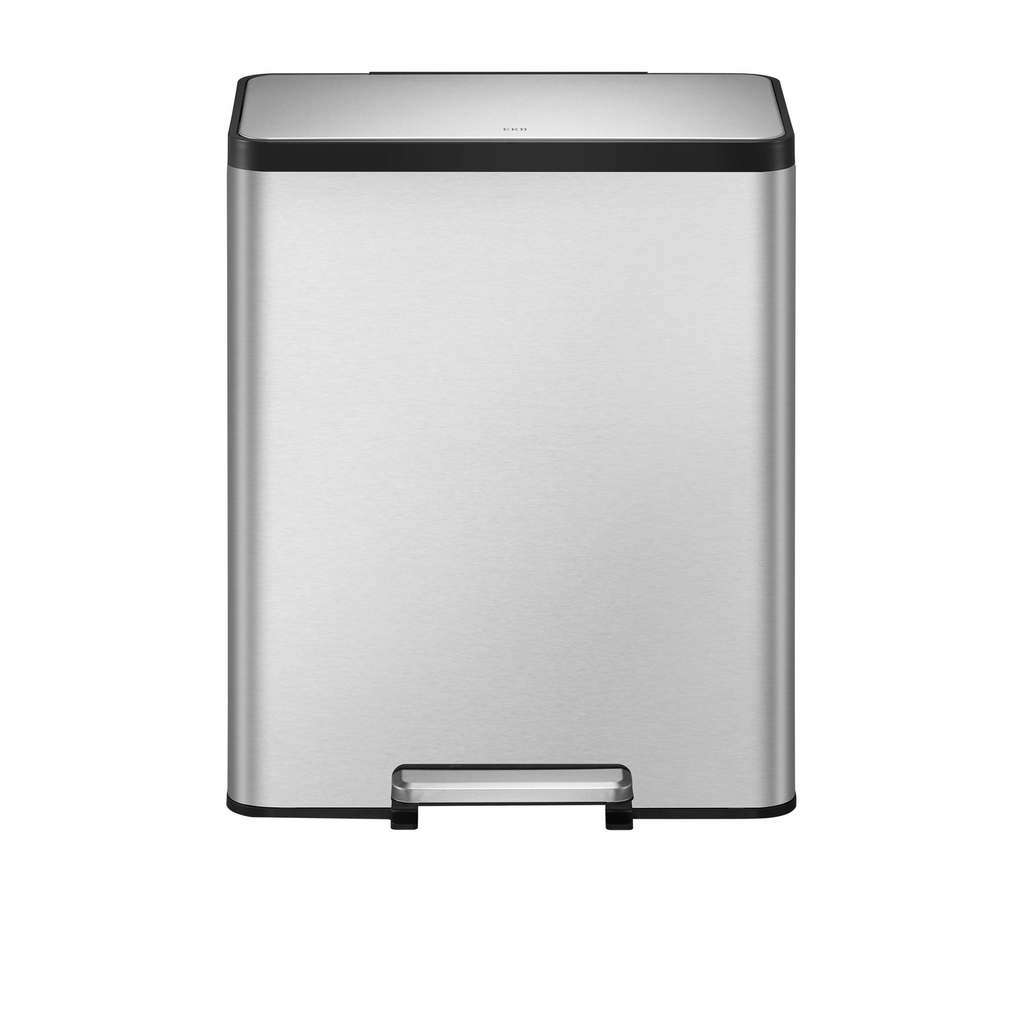 EKO EcoCasa II Step Can 36L+24L Stainless Steel