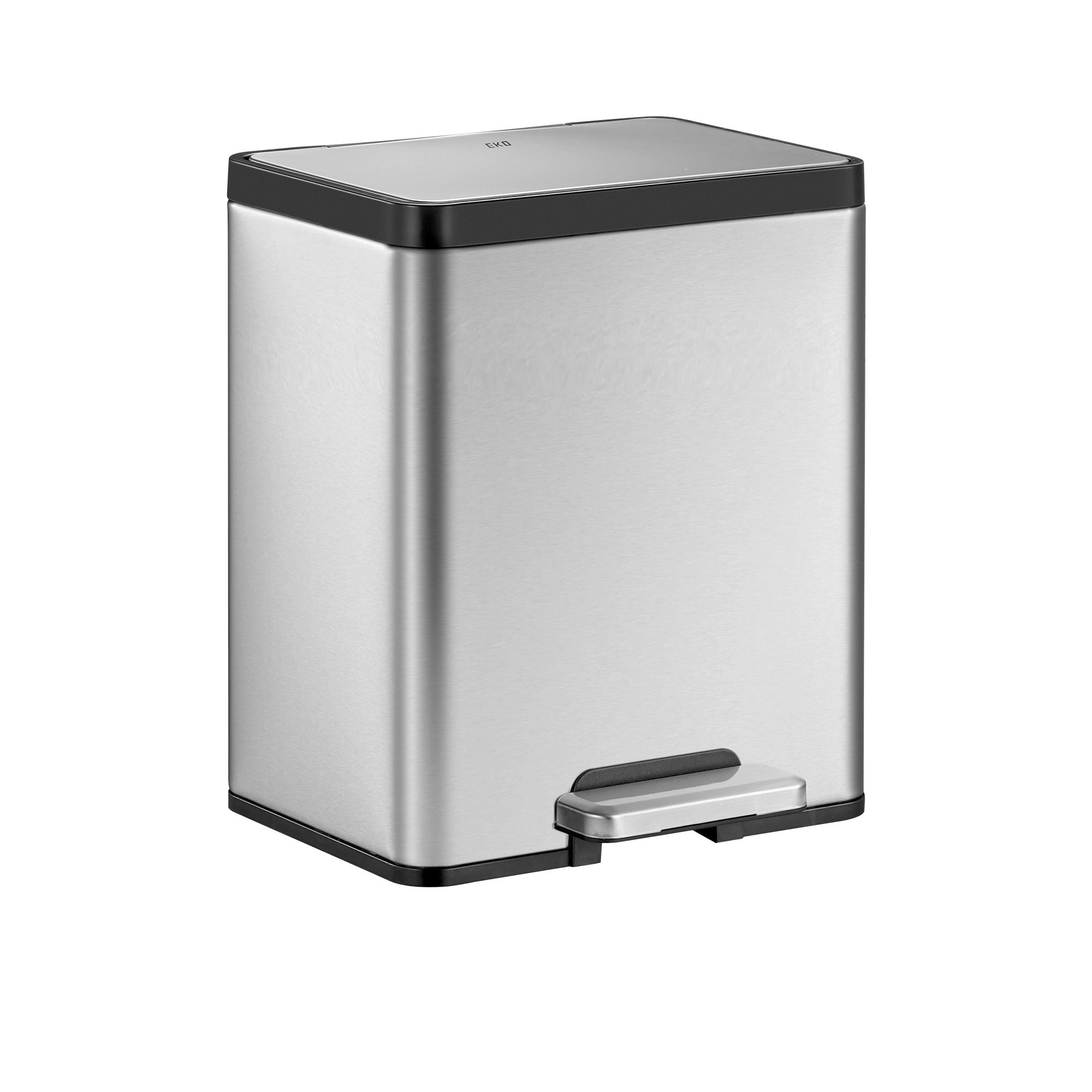 EKO Ecocasa II Step Can 20L Stainless Steel