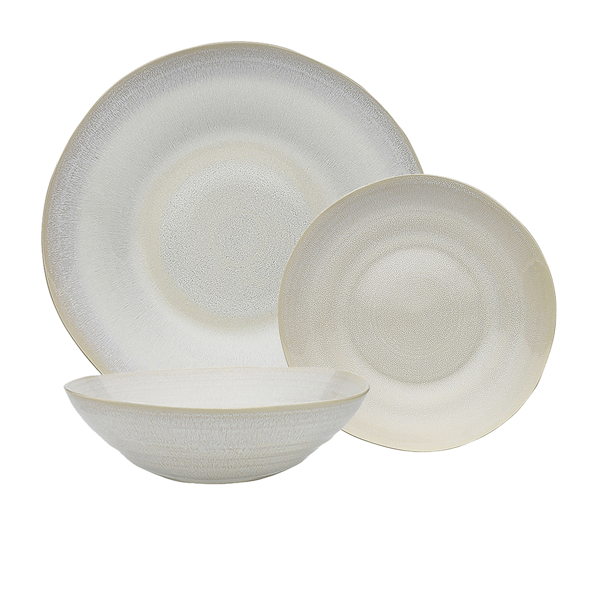 Ecology Heidi 12pc Dinner Set White