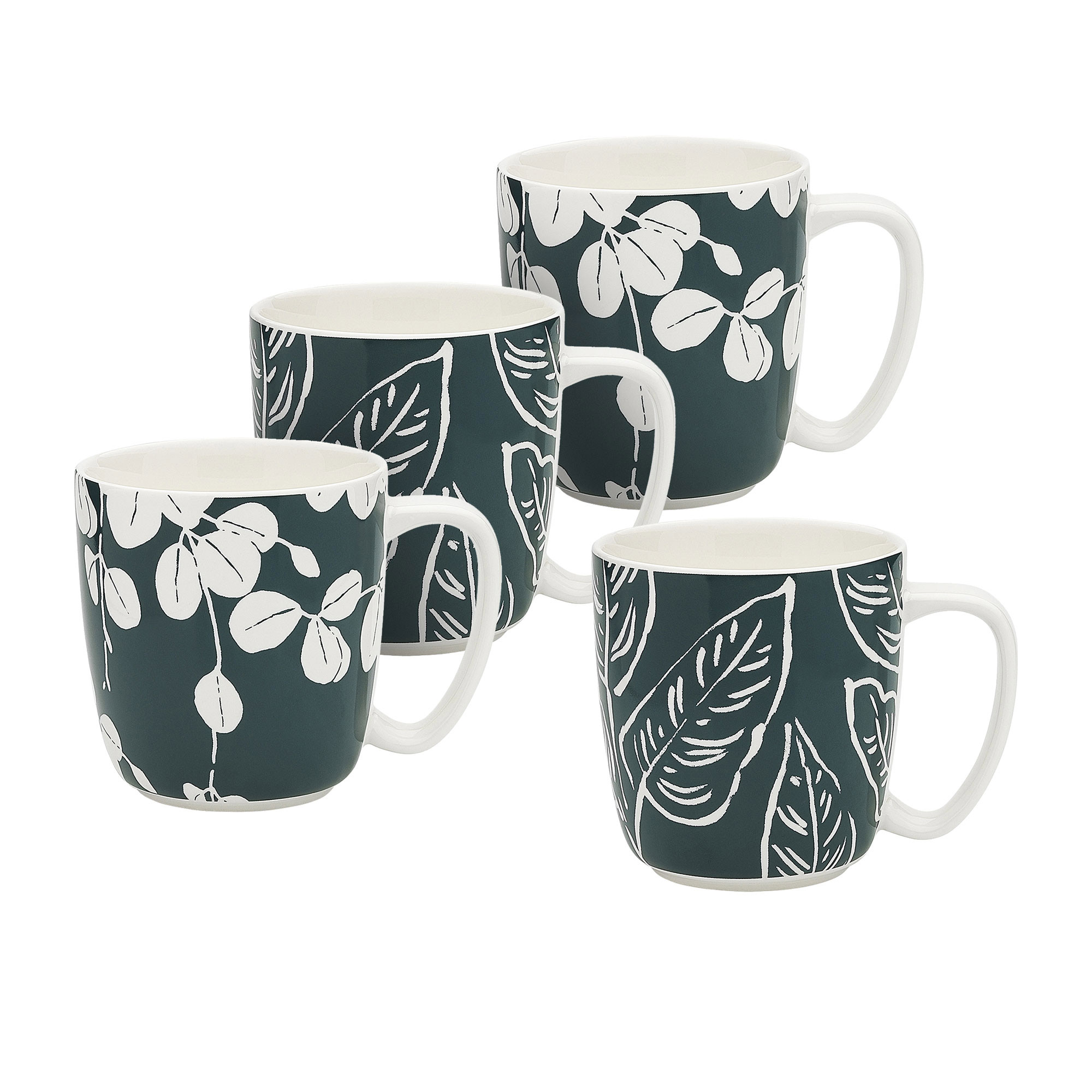 Ecology Mug Set 300ml House Plants