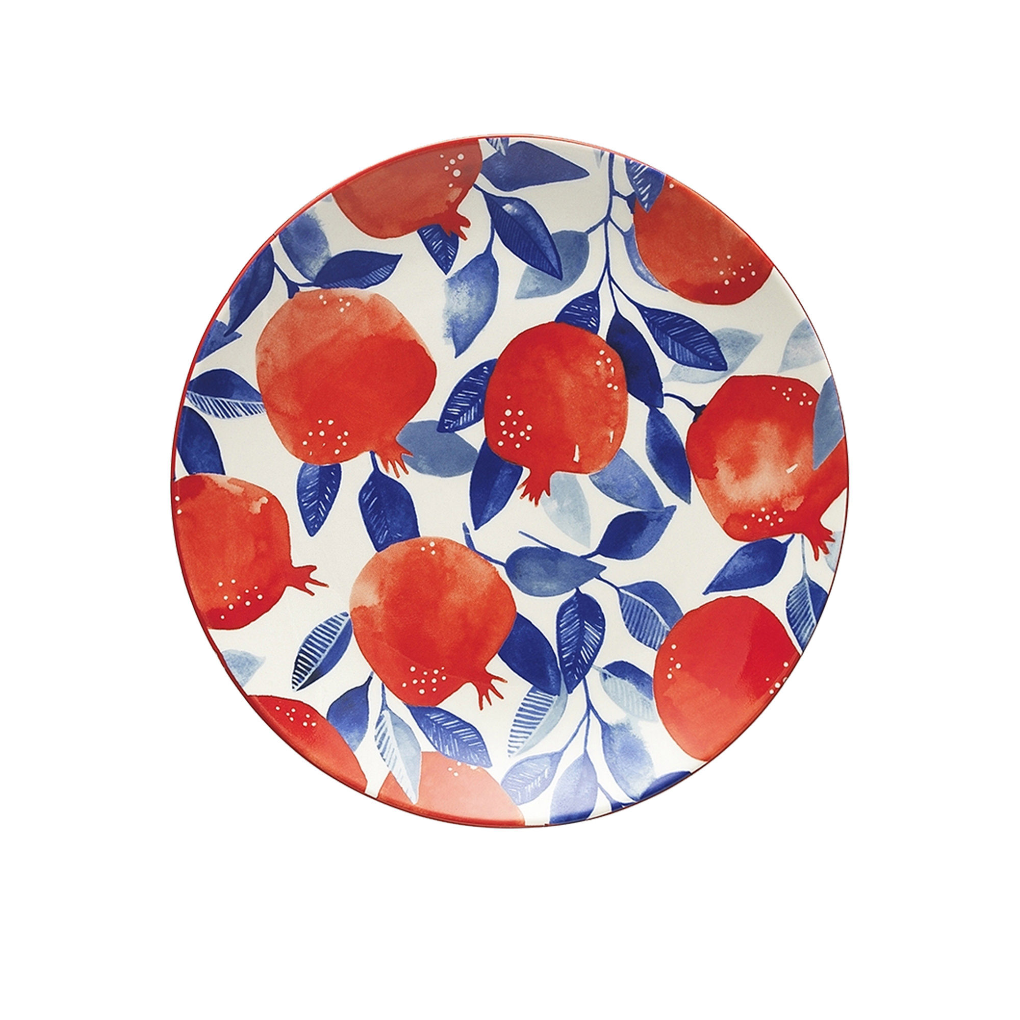 Ecology Punch Side Plate 20cm Pomegranate
