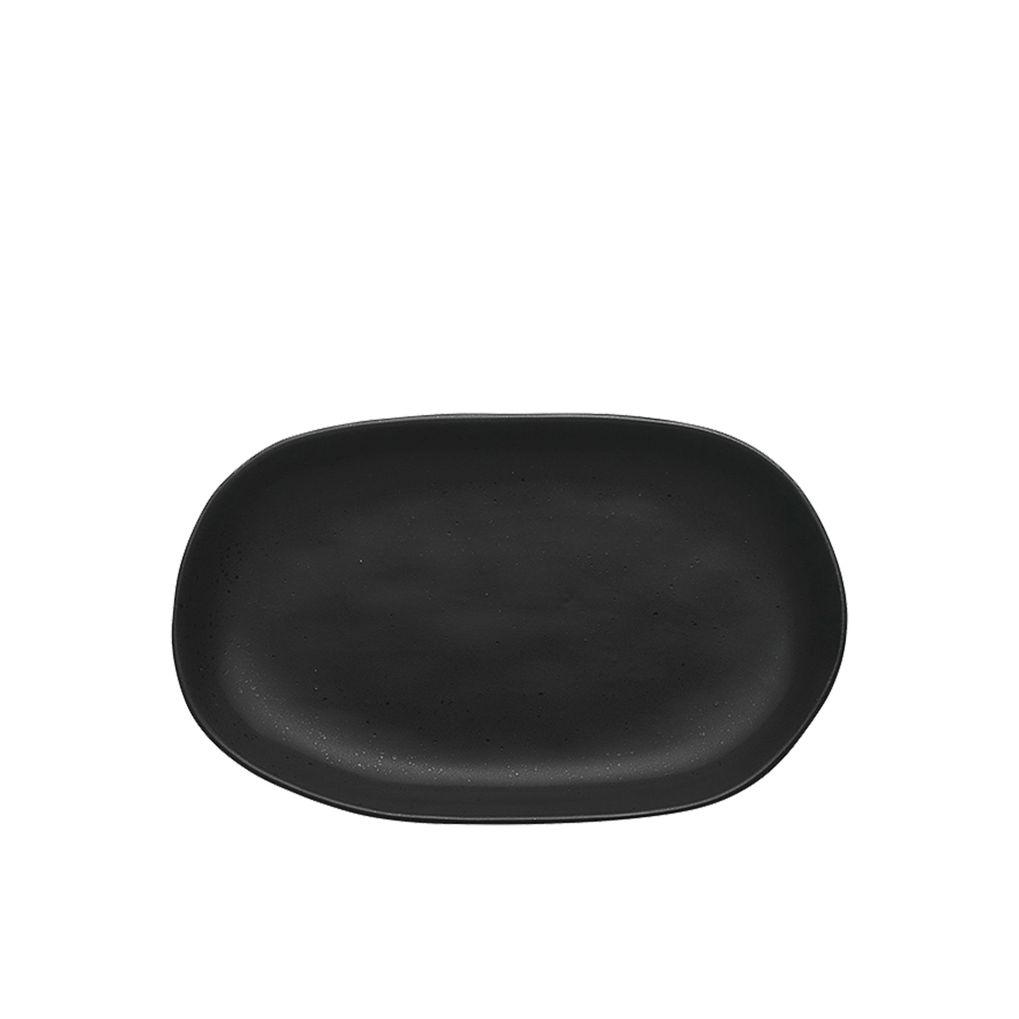 Ecology Speckle Small Shallow Bowl 22x13.5x3cm Ebony