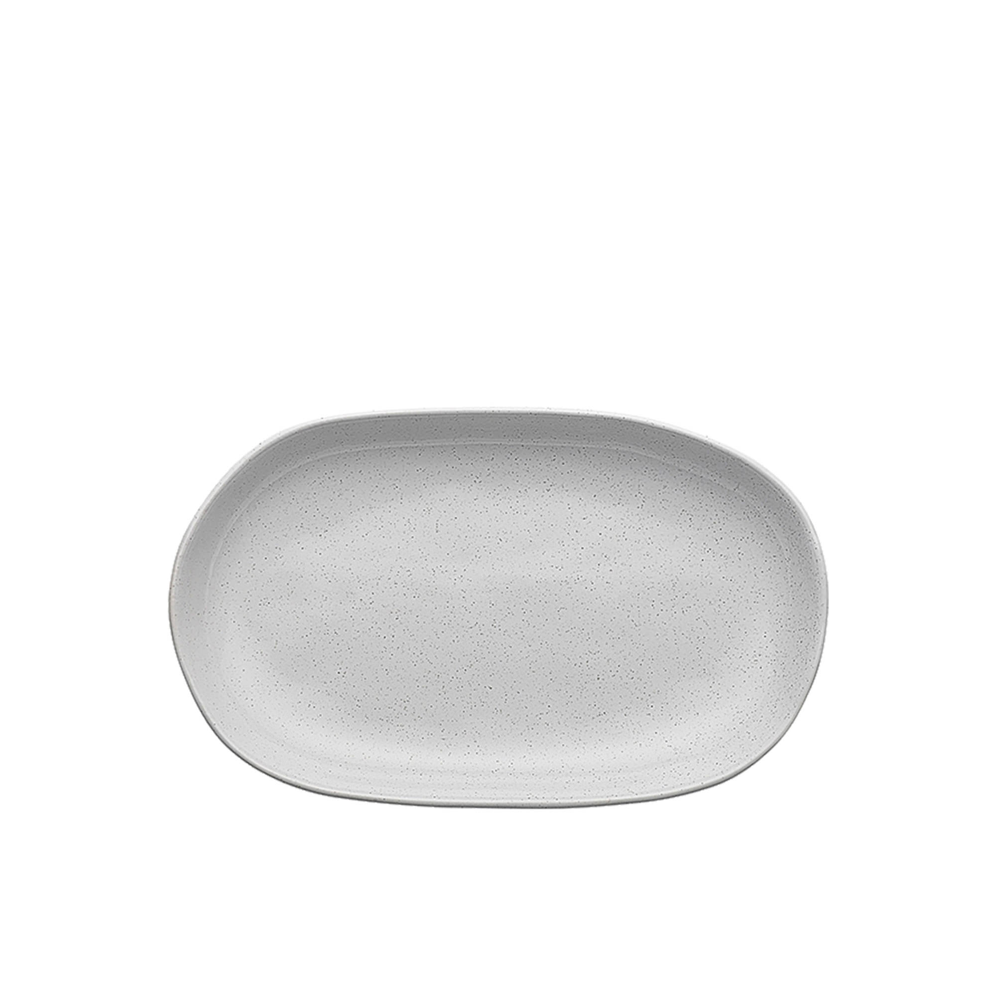 Ecology Speckle Small Shallow Bowl 22x13.5x3cm Milk