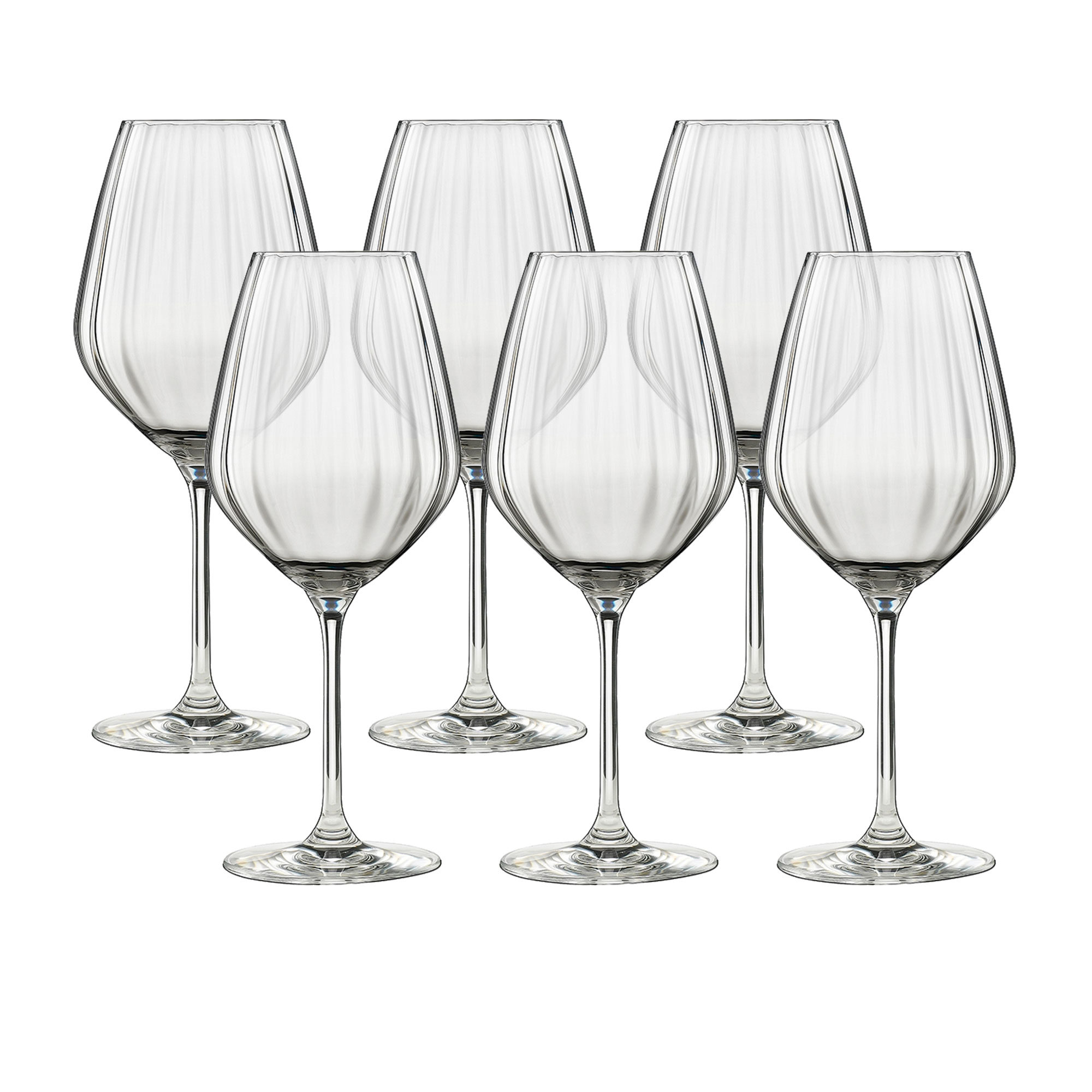 Ecology Twill 6pc White Wine Set 430ml