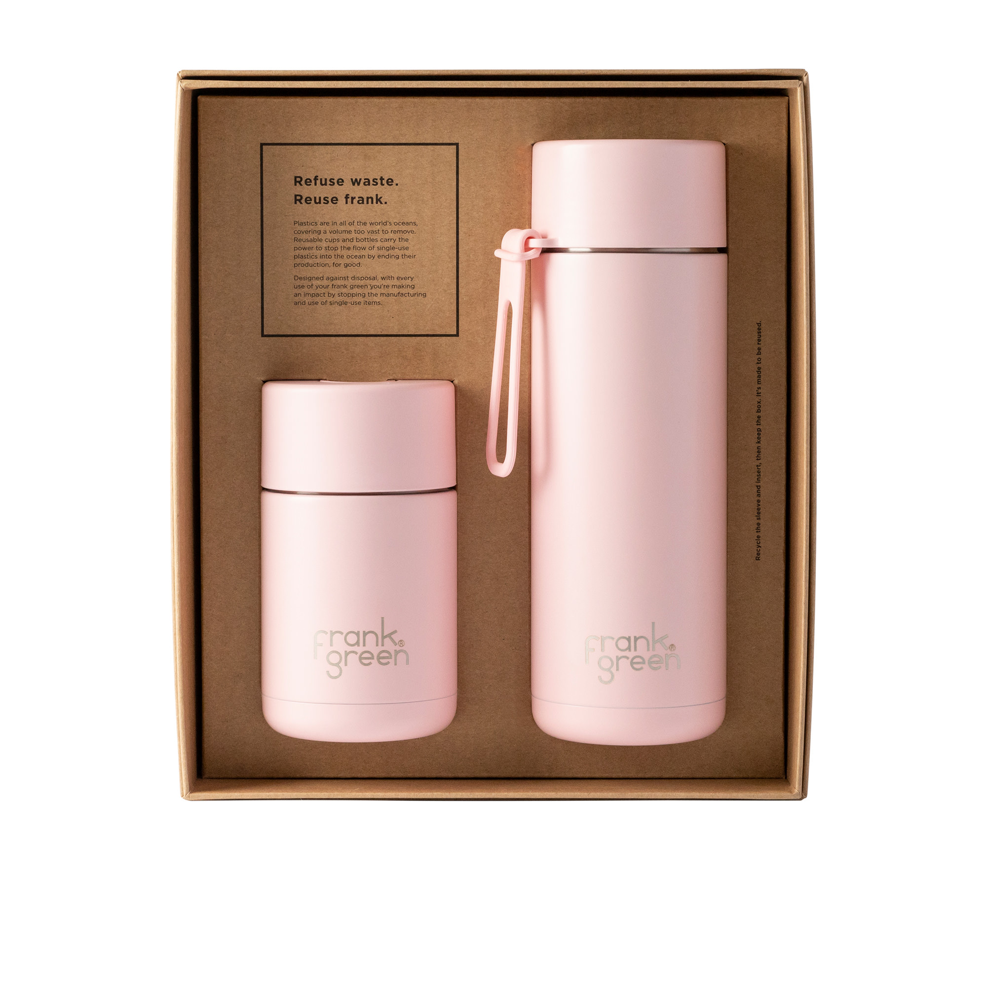 Frank Green Ultimate Ceramic Gift Set Blushed