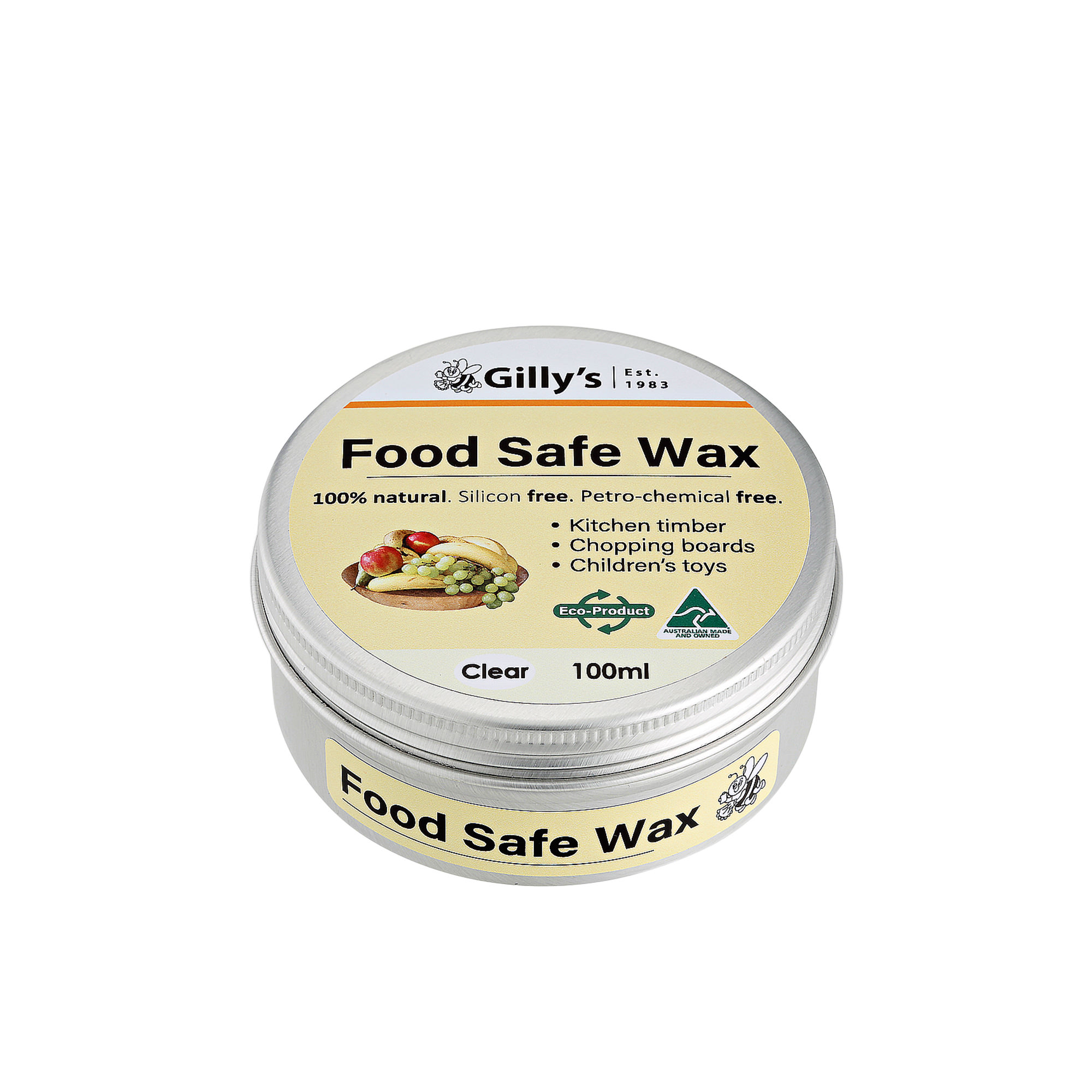 Gilly's Food Safe Wax 100ml